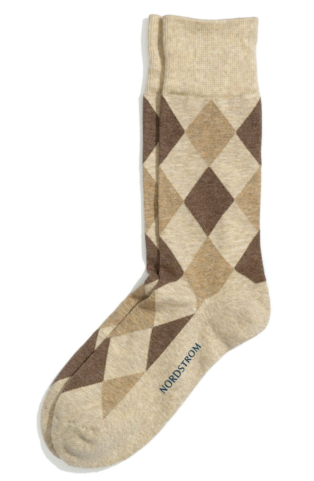 Alternate Image 1 Selected - Nordstrom 'Cushion Foot' Socks