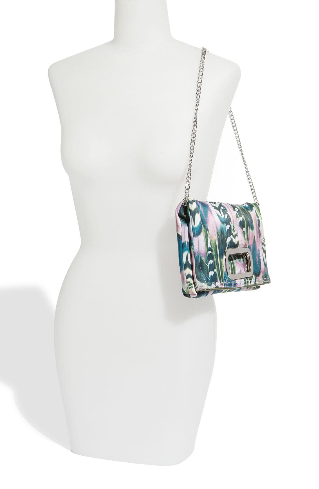 Alternate Image 2  - SR Squared by Sondra Roberts 'Feather' Clutch