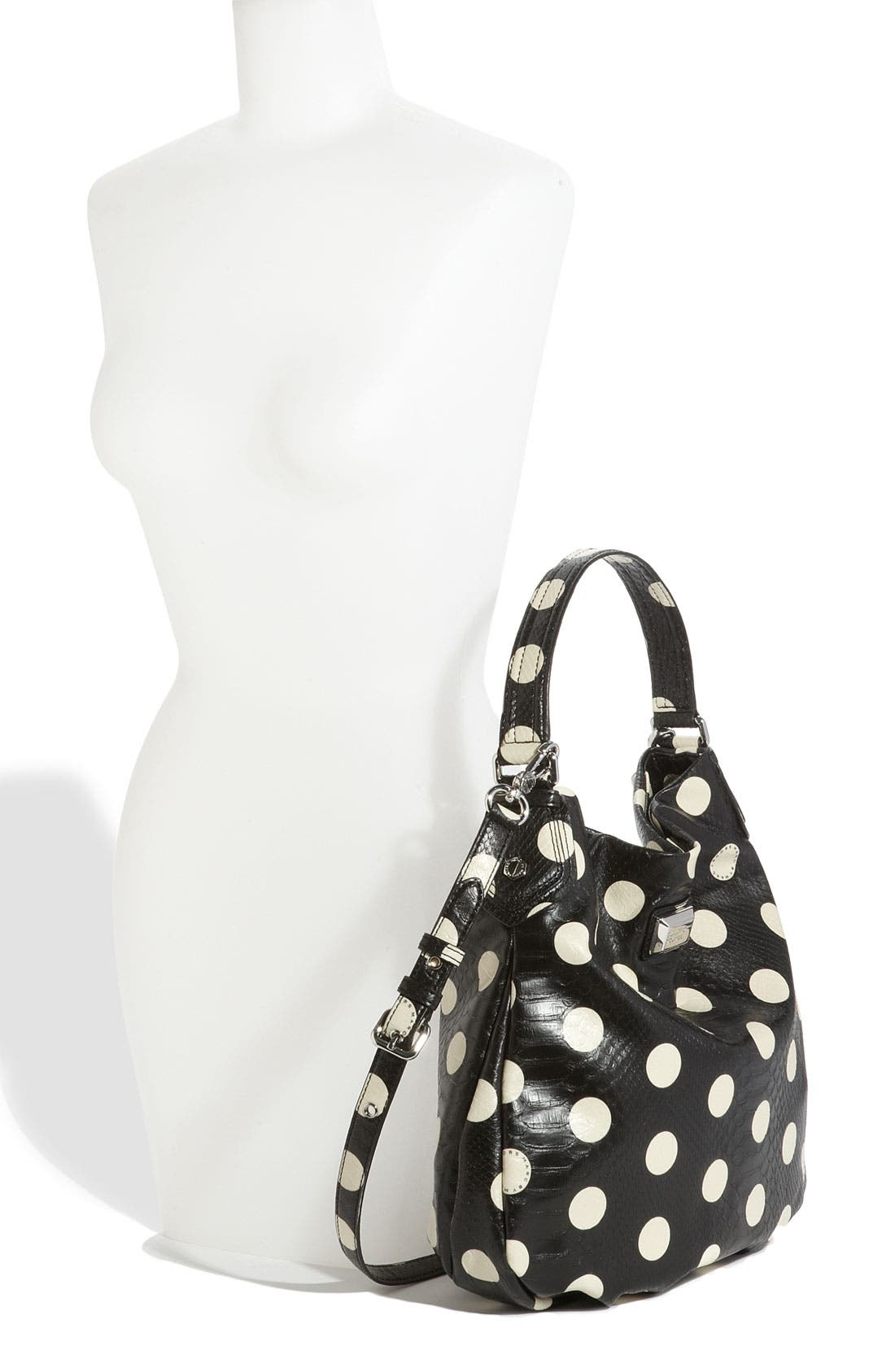 Alternate Image 2  - MARC BY MARC JACOBS 'Dotty Snake Hillier' Faux Leather Hobo