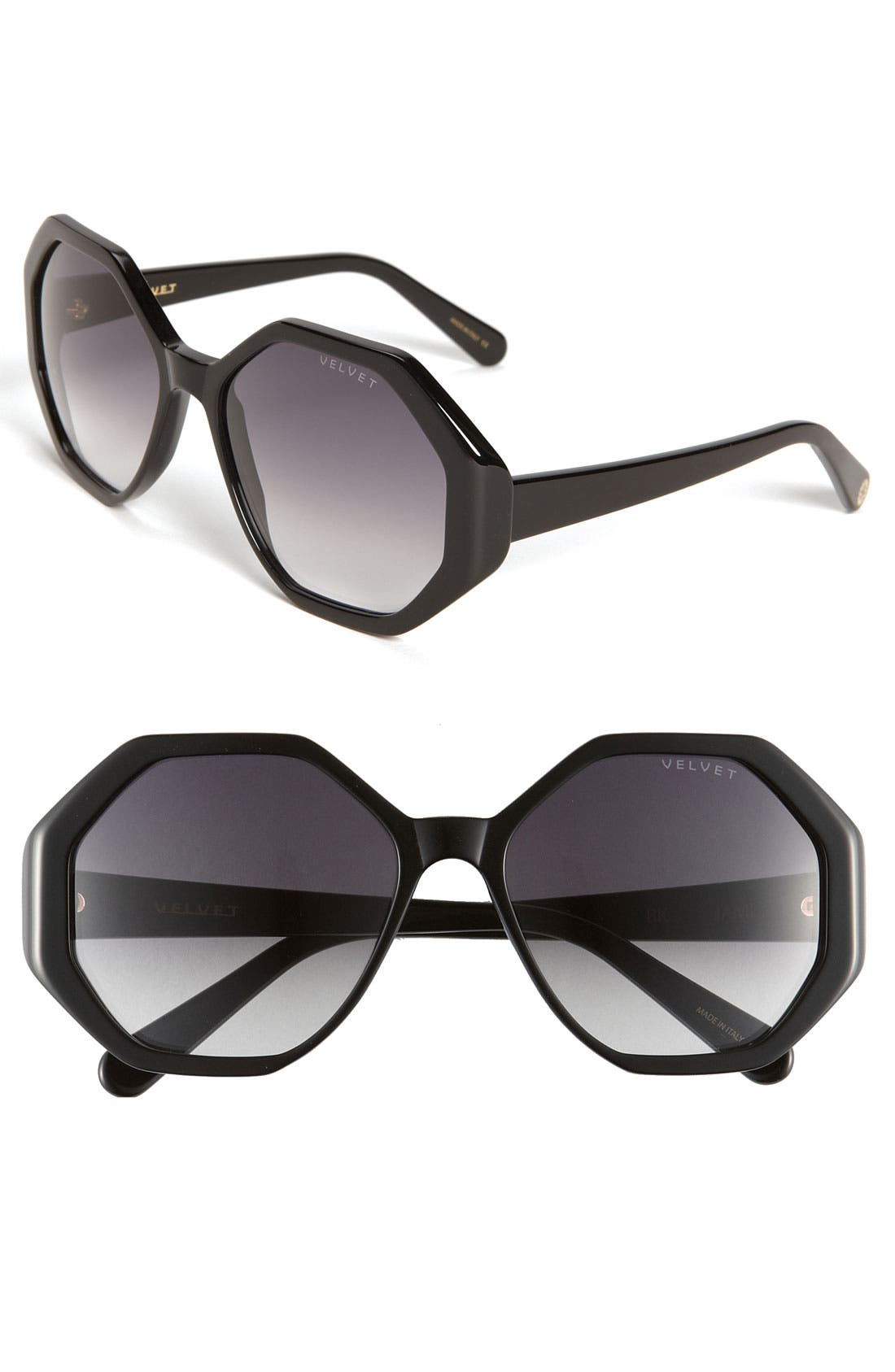 Alternate Image 1 Selected - Velvet Eyewear 'Jami' 57mm Sunglasses
