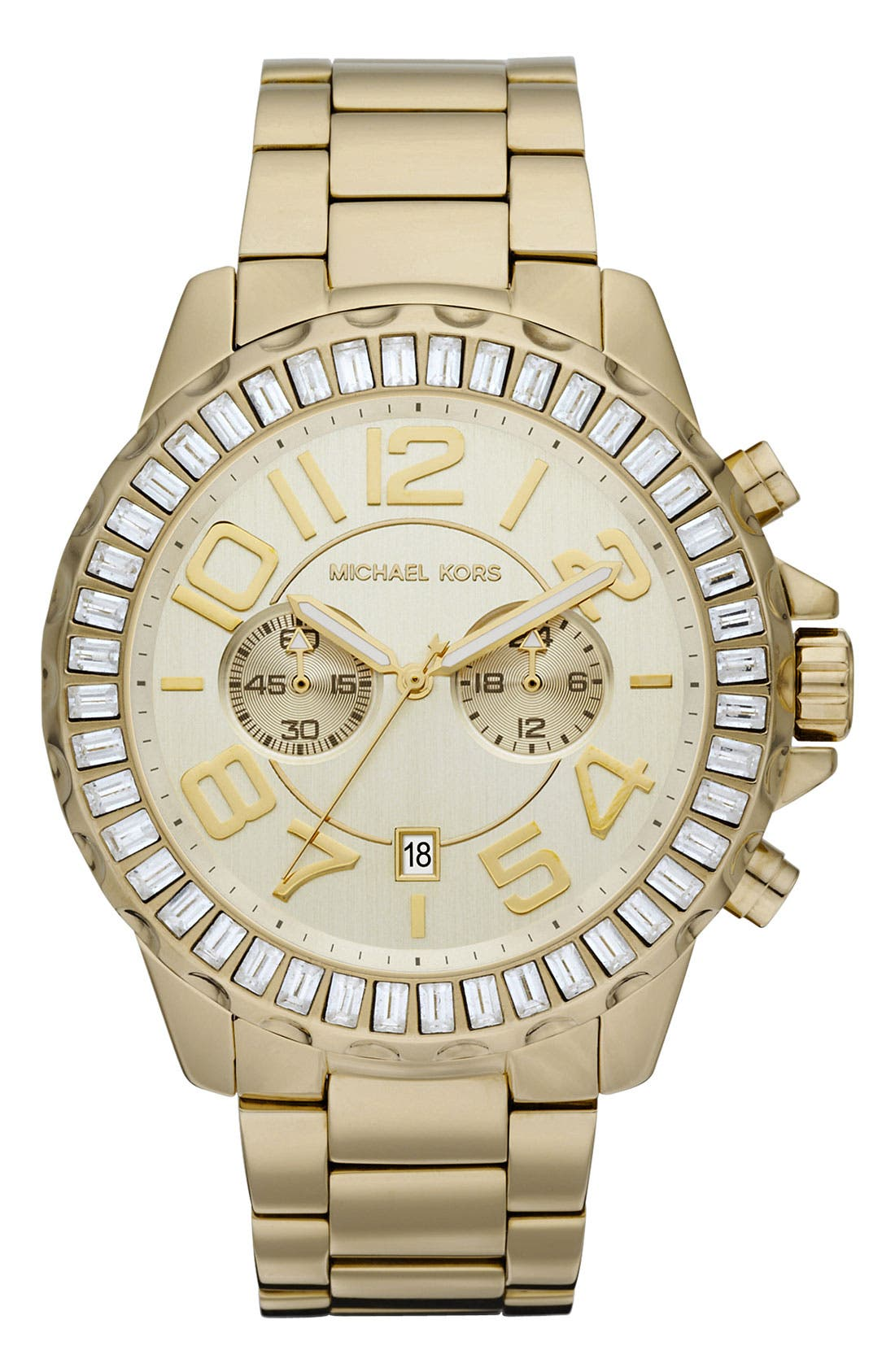 Main Image - Michael Kors 'Rox Chrono' Bracelet Watch