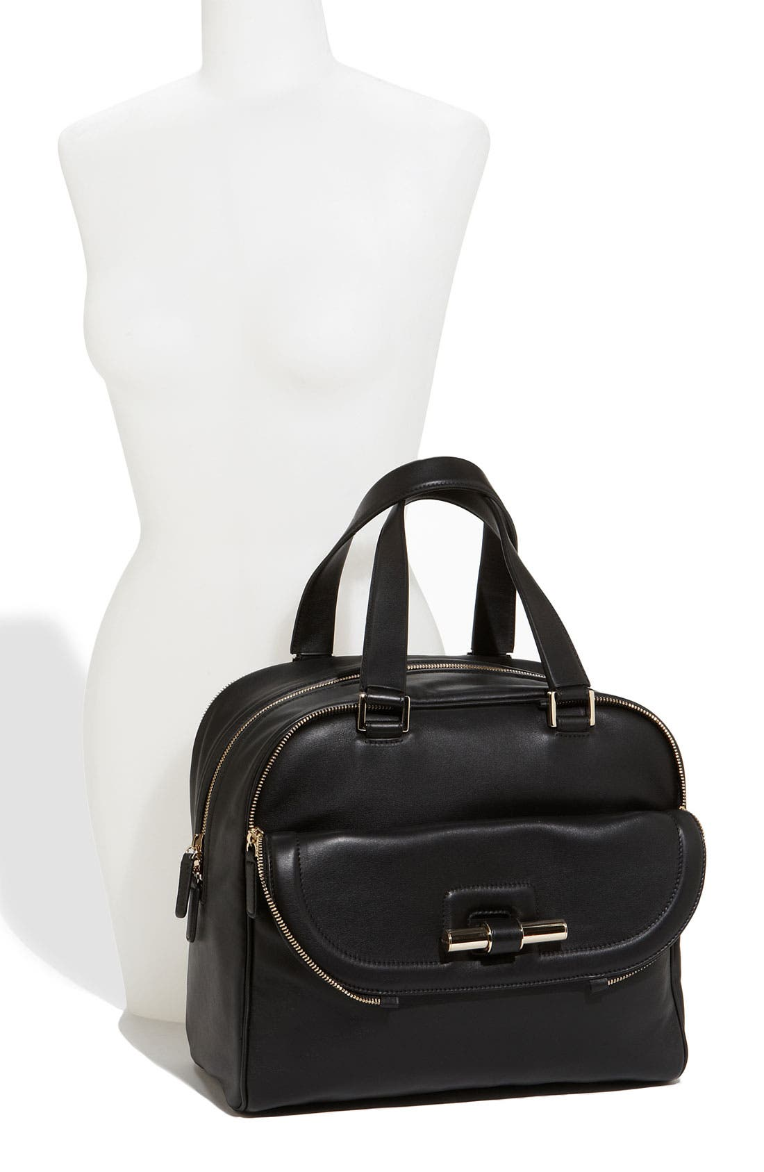 Alternate Image 2  - Jimmy Choo 'Justine - Large' Leather Satchel