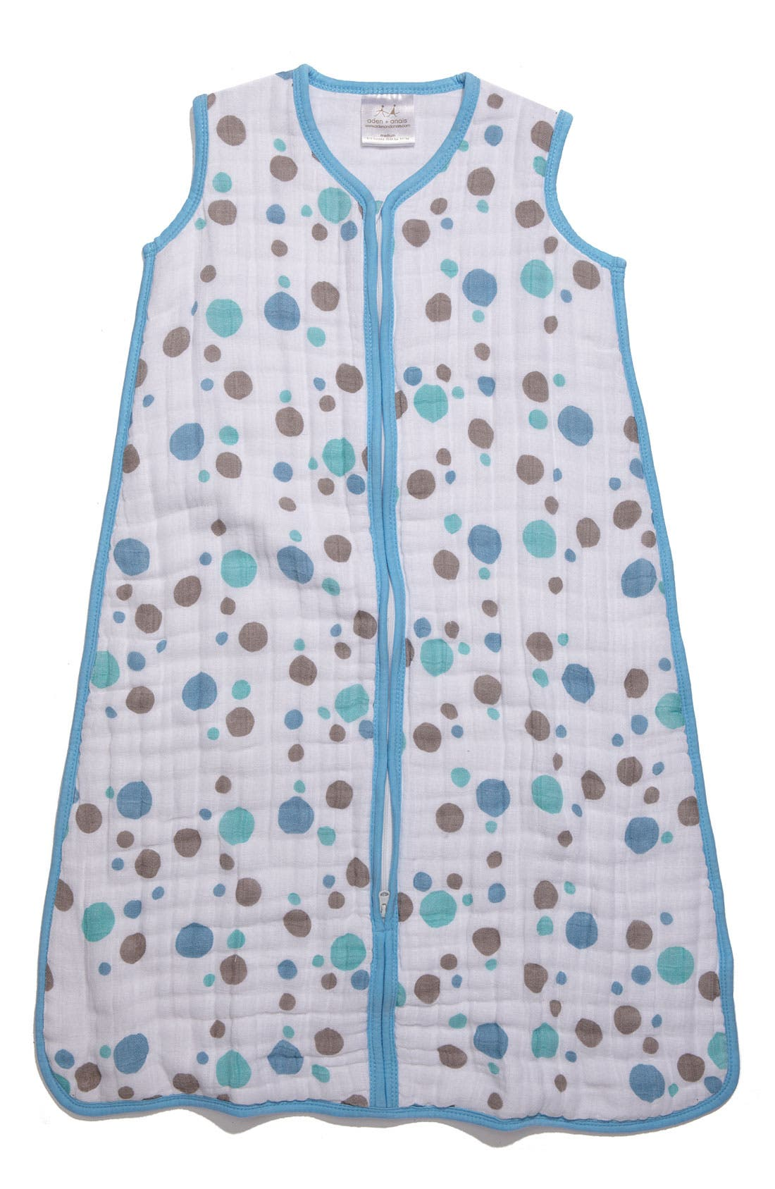 Alternate Image 1 Selected - aden + anais 'Cozy Sleeping Bag' Wearable Blanket (Baby)