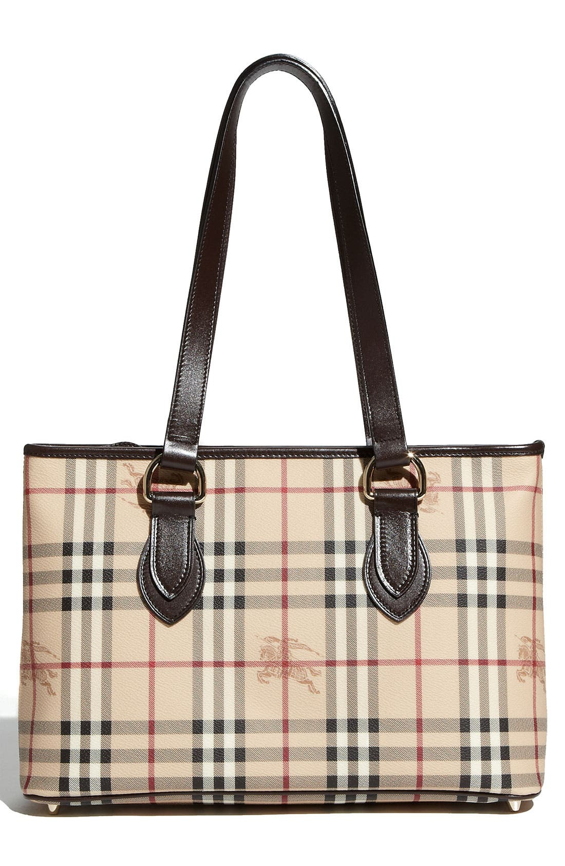 Alternate Image 4  - Burberry 'Haymarket Check' Shopper, Medium