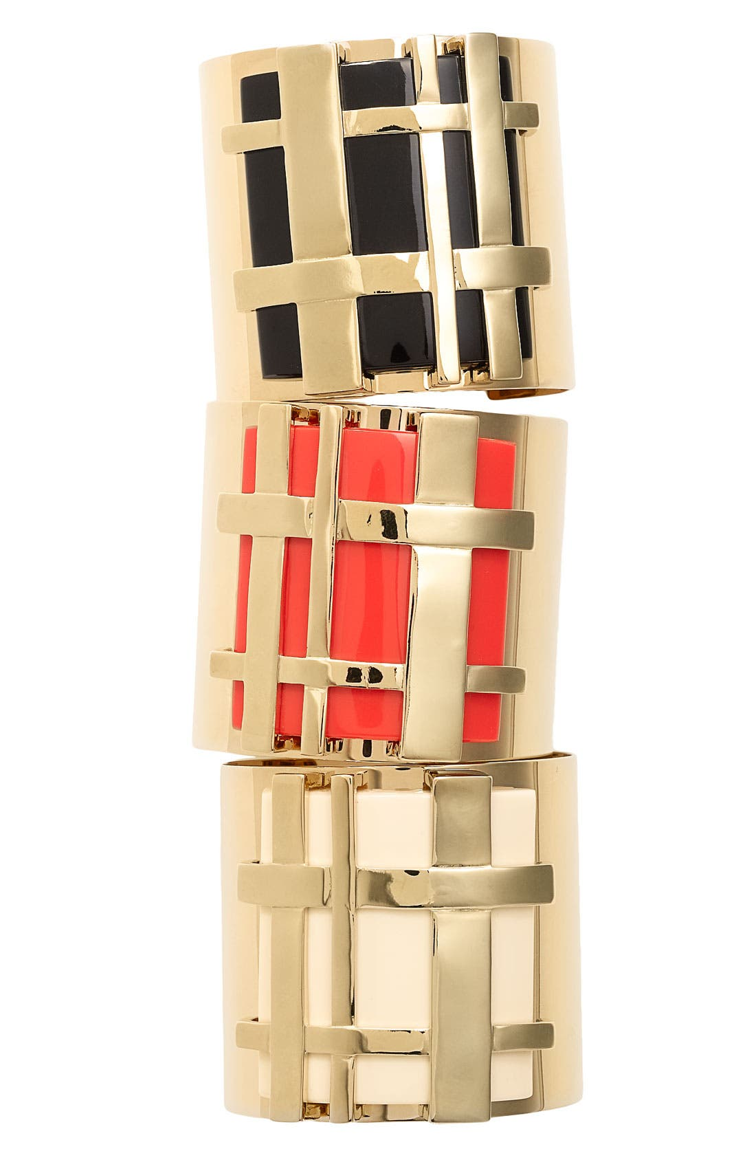 Alternate Image 2  - Tory Burch 'Gingham' Cuff Bracelet