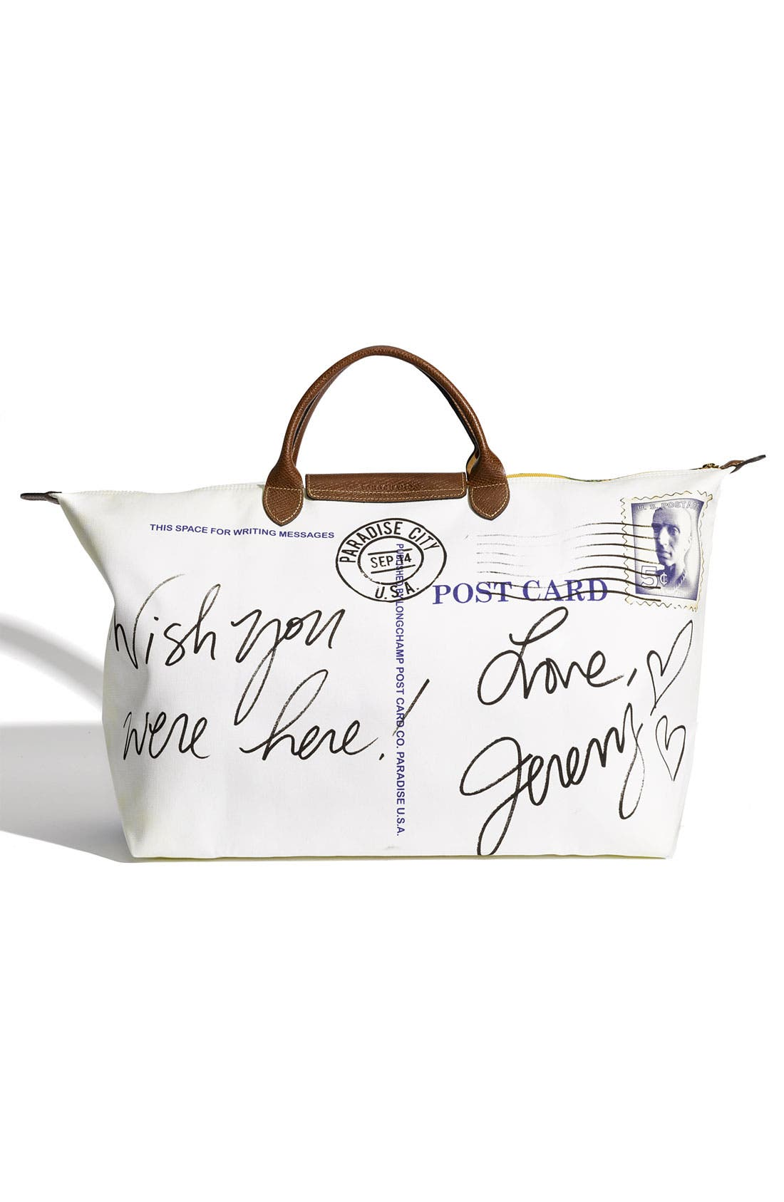 Alternate Image 4  - Longchamp 'Jeremy Scott Paradise' Duffel