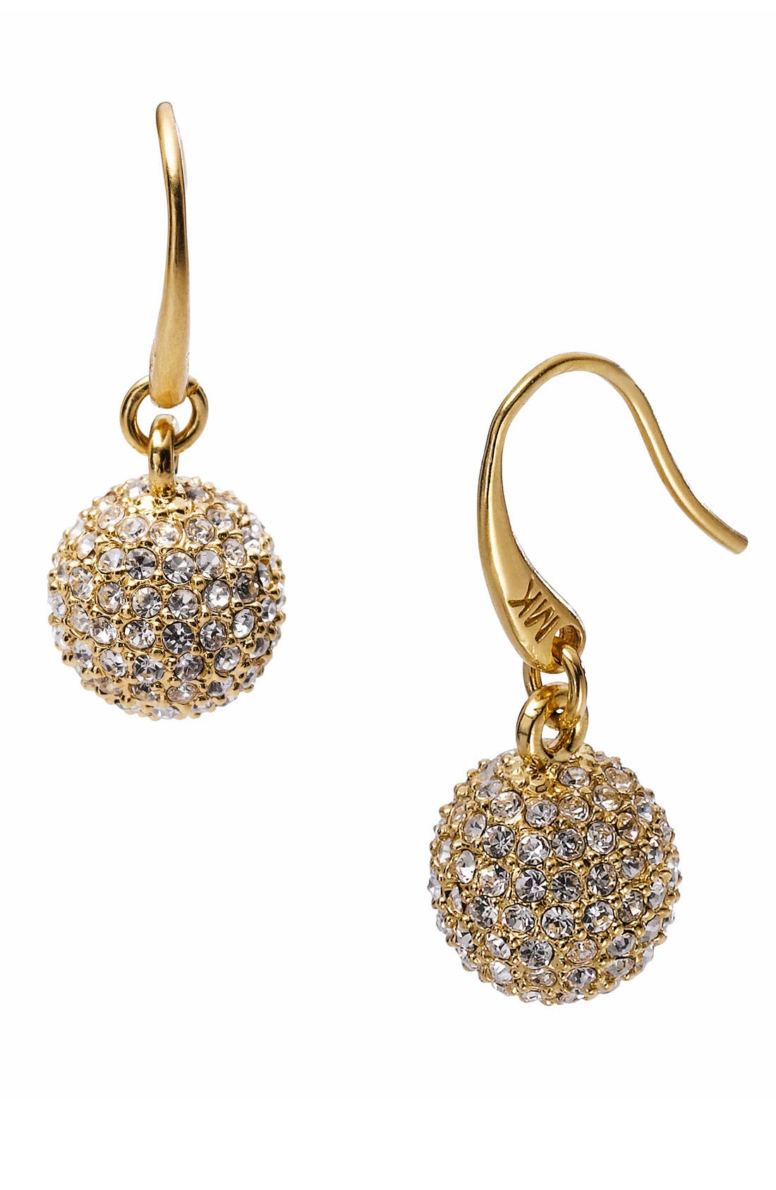 Main Image - Michael Kors 'Spring Sparkle' Pavé Ball Drop Earrings
