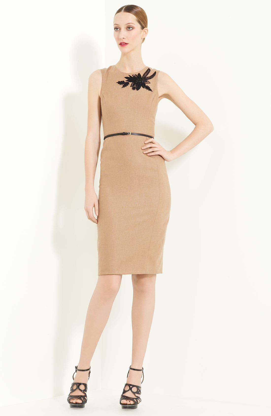 Main Image - Jason Wu Belted Sheath Dress