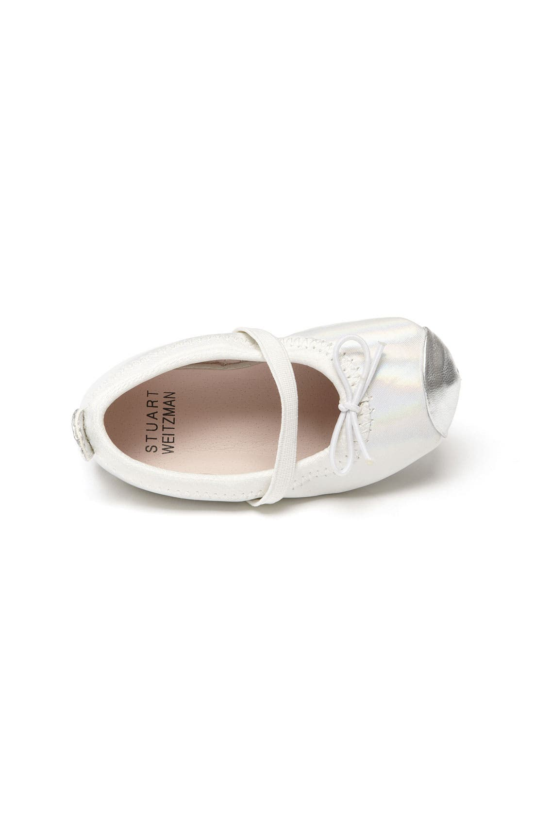 Alternate Image 3  - Stuart Weitzman 'Baby Chippy' Crib Shoe (Baby)