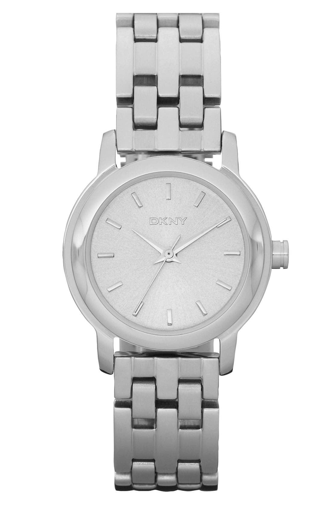 Main Image - DKNY Round Bracelet Watch, 28mm