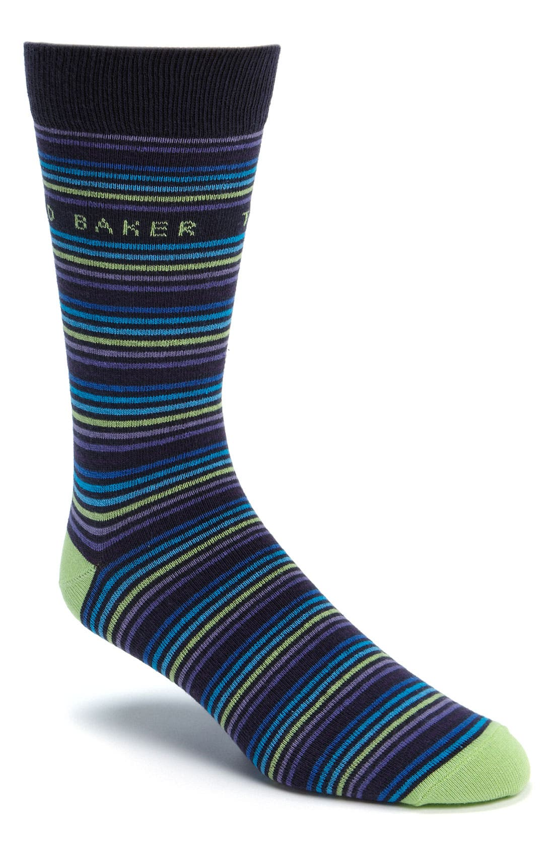 Alternate Image 1 Selected - Ted Baker London Thin Stripe Socks