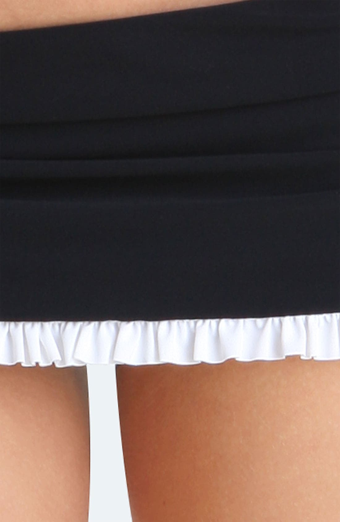 Alternate Image 3  - Profile by Gottex 'Black Tie' Skirted Bikini Bottoms
