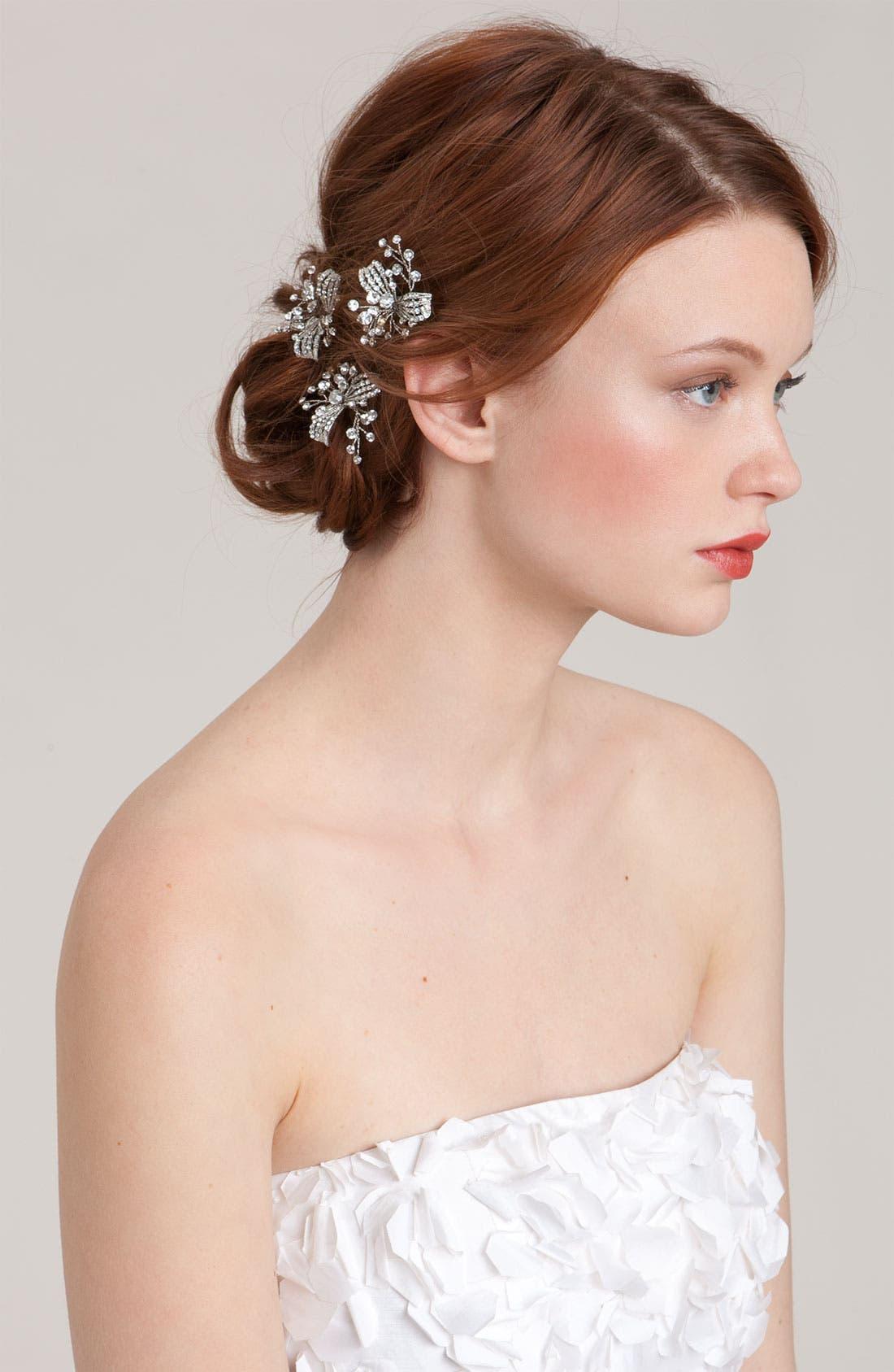 Main Image - Nina 'Gwenyth' Crystal Hairpins (Three-Pack)
