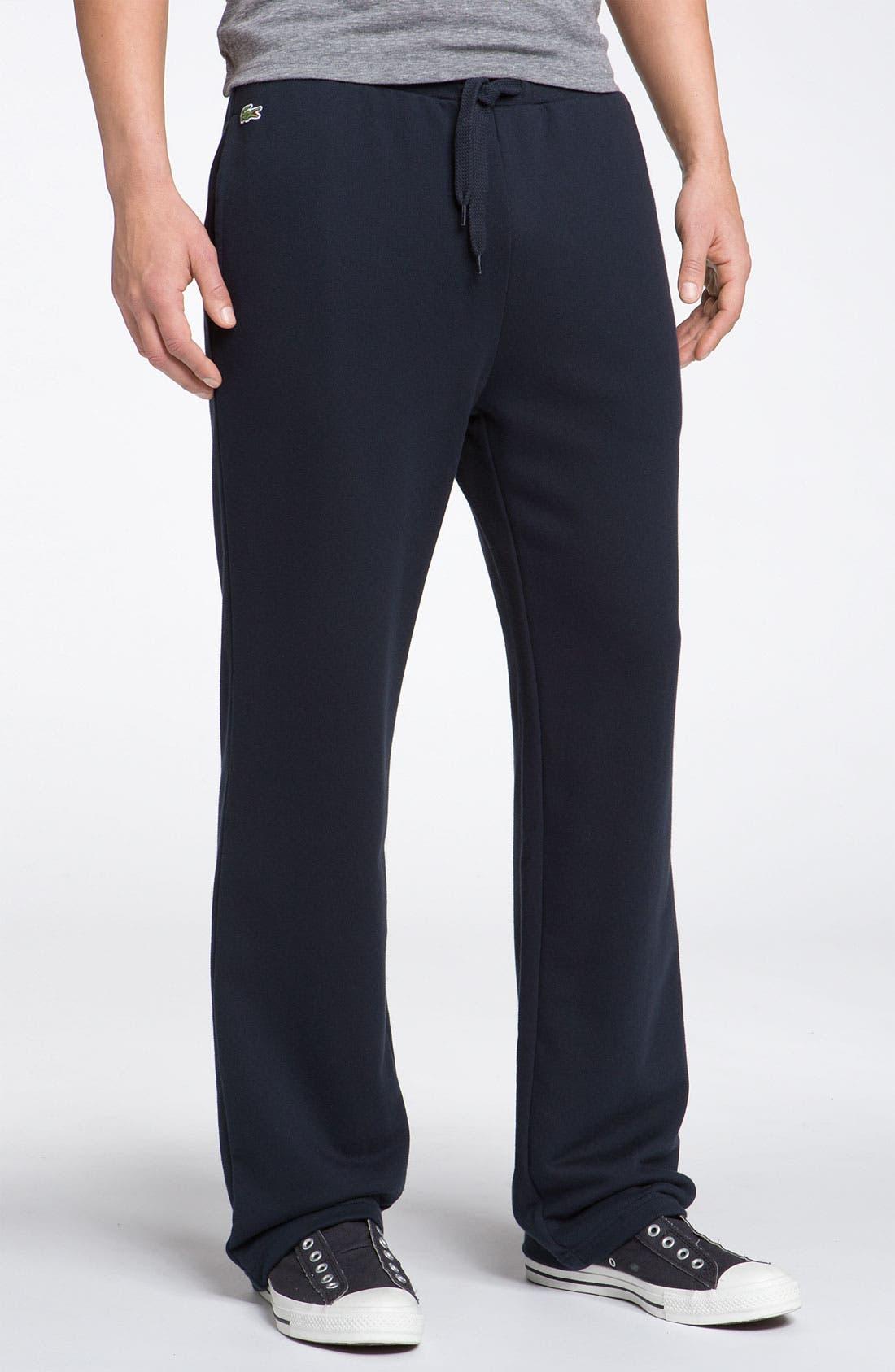 Alternate Image 1 Selected - Lacoste Fleece Track Pants
