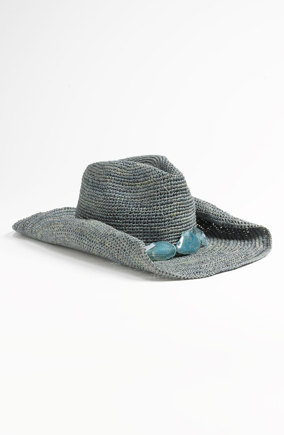Main Image - Flora Bella 'Druzy' Cowboy Hat