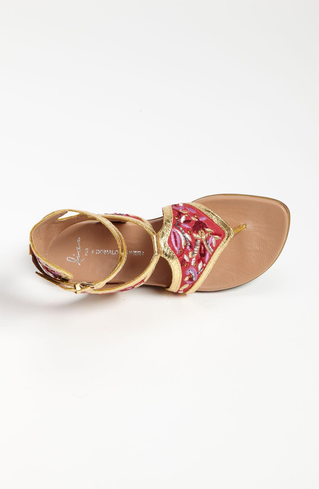 Alternate Image 3  - Lisa for Donald J Pliner 'Gissa' Sandal