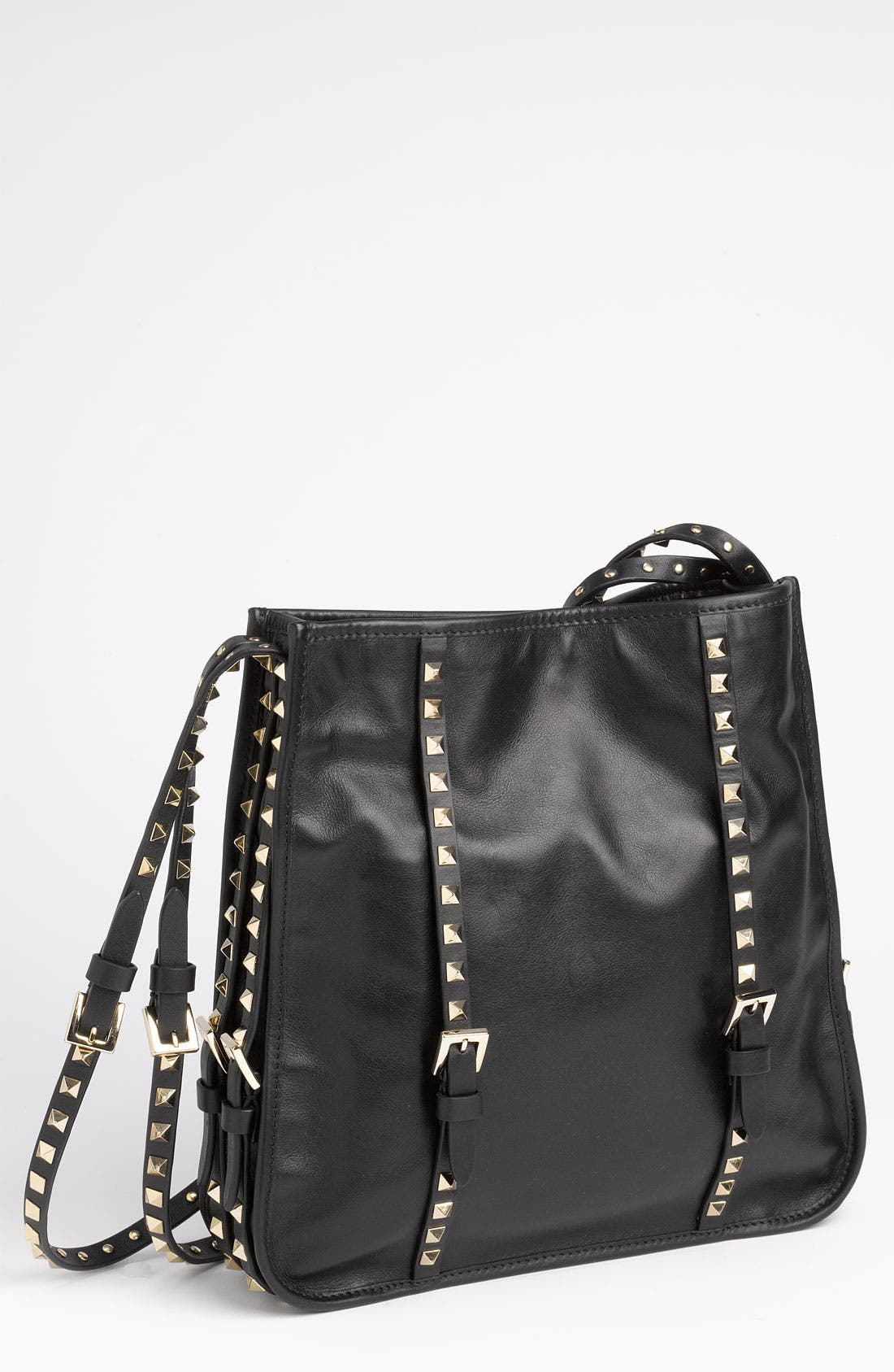 Main Image - Valentino 'Small' Leather Shopper Tote