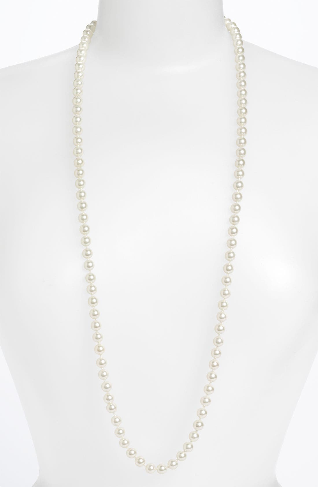 Main Image - Givenchy Long Glass Pearl Necklace