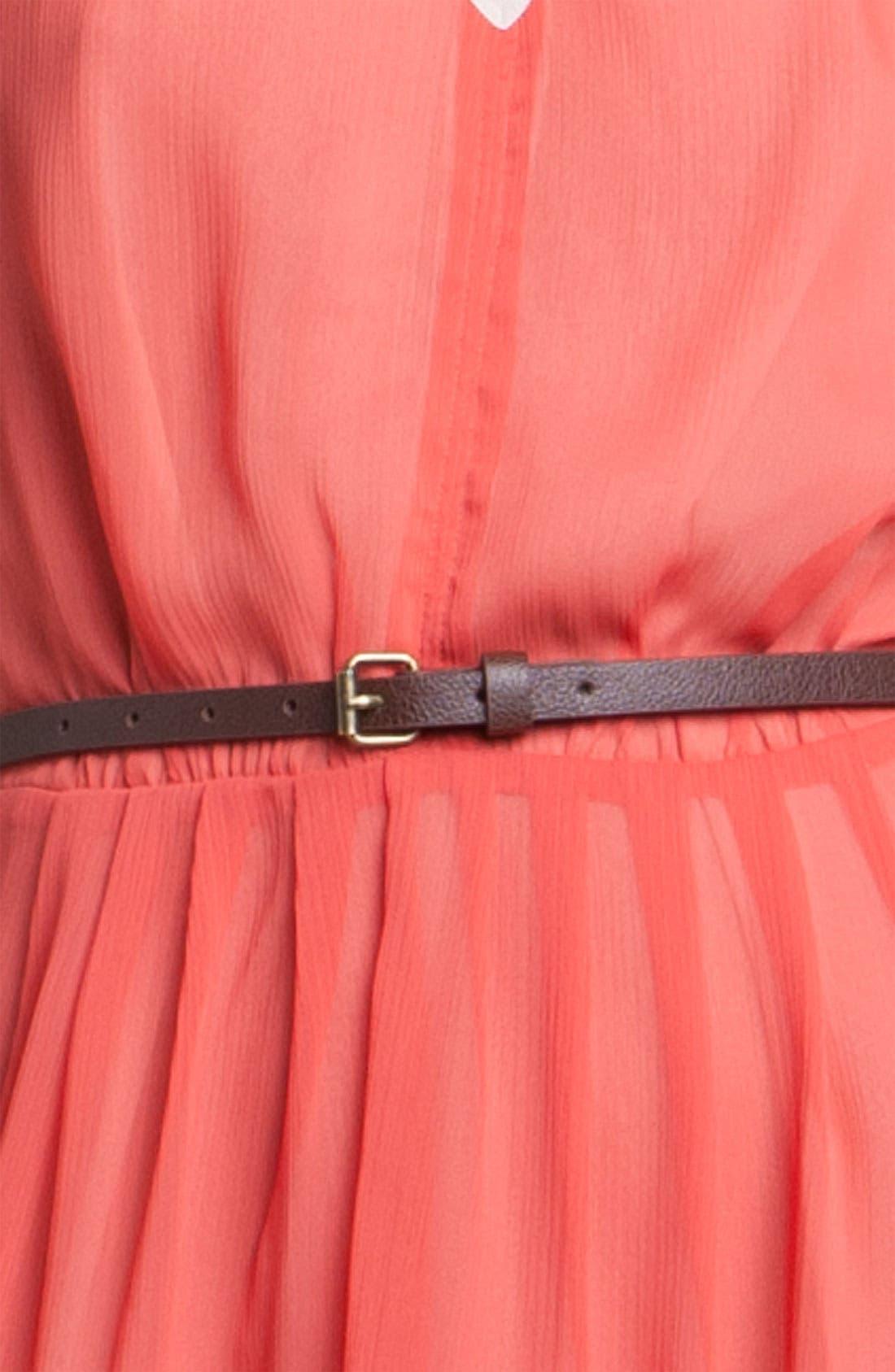 Alternate Image 3  - Hinge® Asymmetrical Layered Chiffon Dress