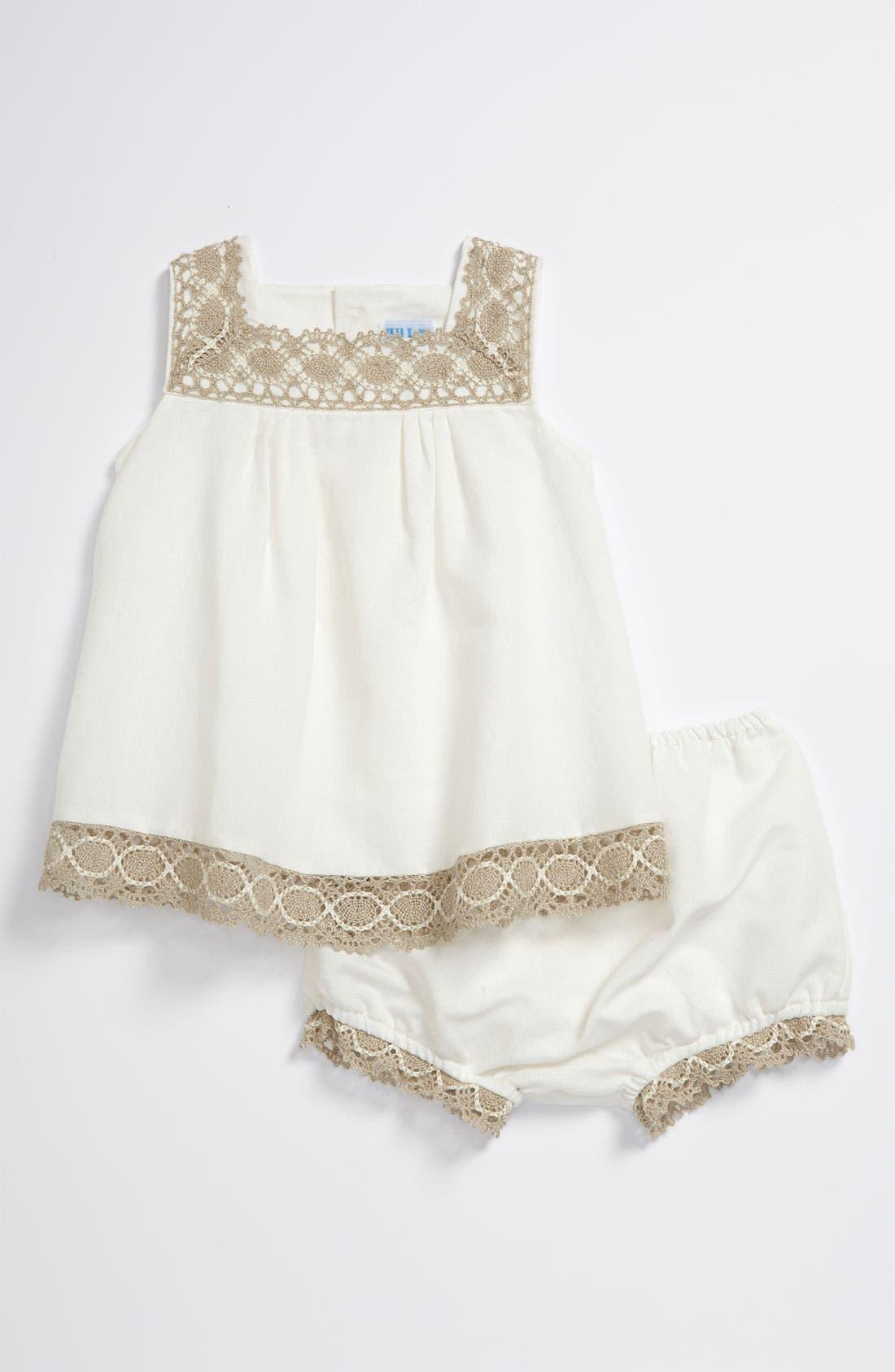 Alternate Image 1 Selected - Luli & Me Dress (Infant)
