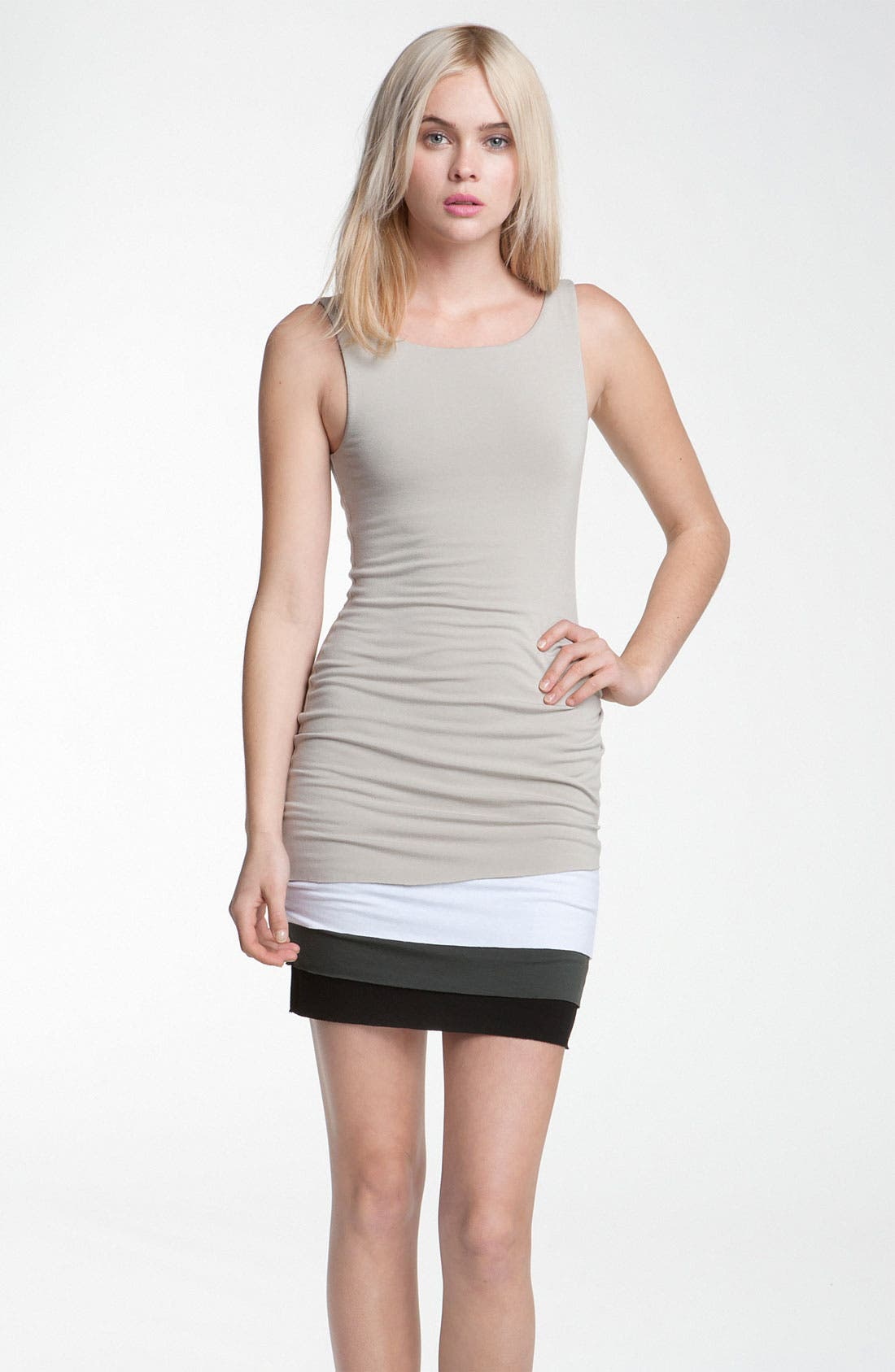 Main Image - B44 Dressed by Bailey 44 'Dik Dik' Colorblock Layer Jersey Tank Dress