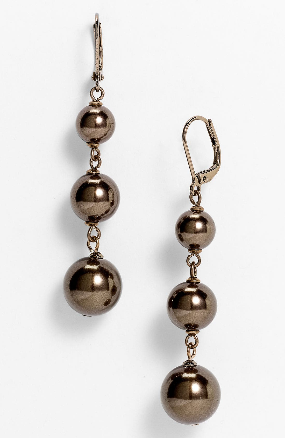Alternate Image 1 Selected - Givenchy Linear Drop Earrings
