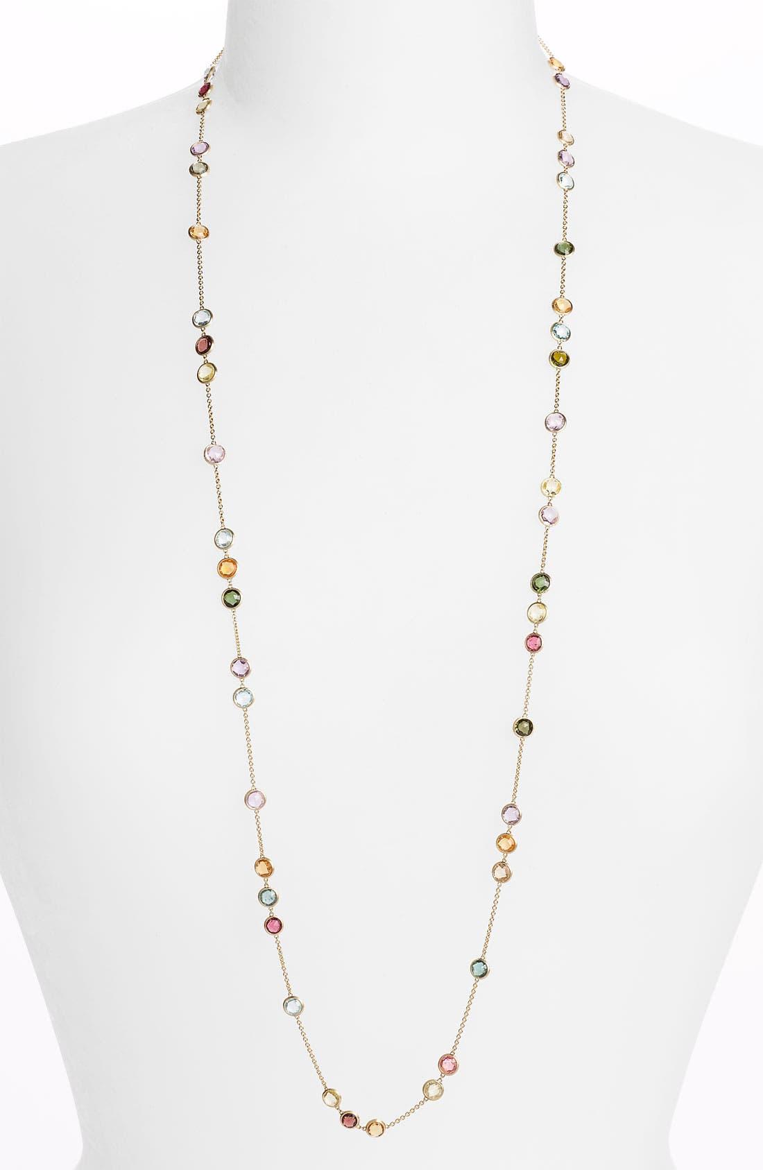 Alternate Image 1 Selected - Marco Bicego 'Mini Jaipur' Long Station Necklace