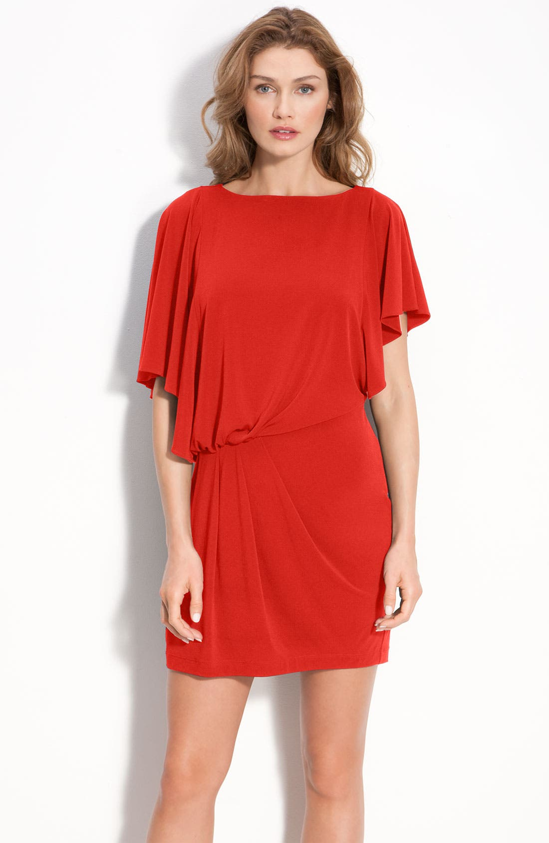 Alternate Image 1 Selected - Vince Camuto Asymmetrical Jersey Dress
