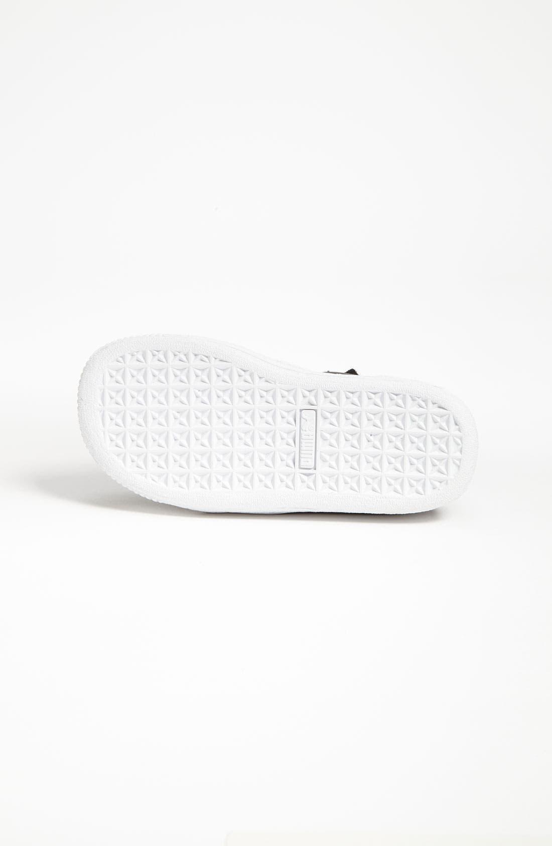Alternate Image 4  - PUMA 'Clyde' Sneaker (Baby, Walker & Toddler)