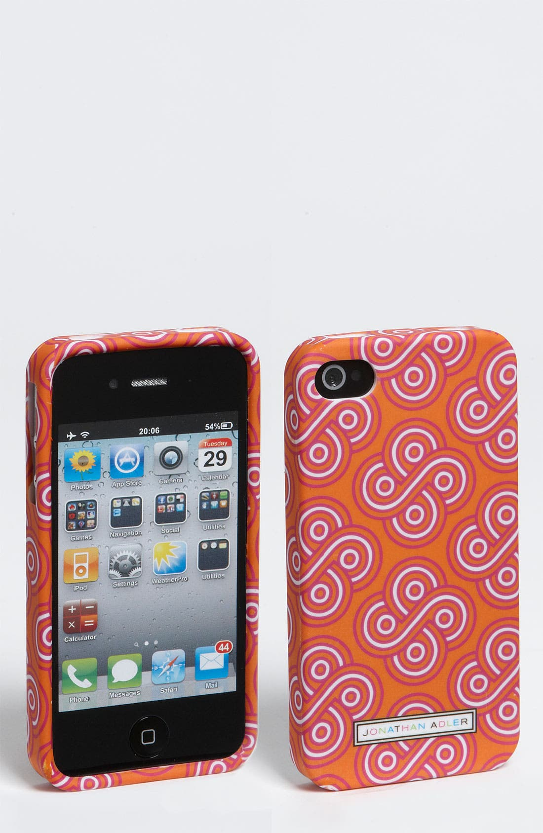 Alternate Image 1 Selected - Jonathan Adler 'Gothic Rose' iPhone 4 & 4S Case