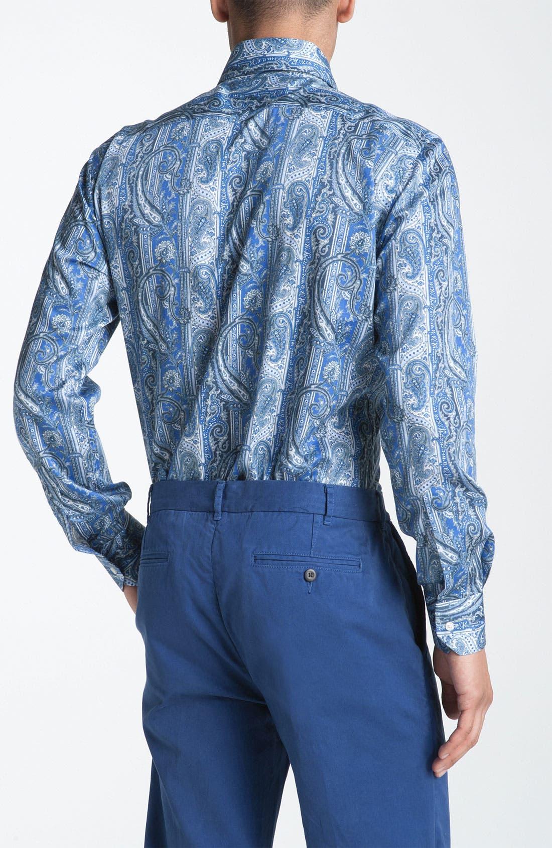 Alternate Image 2  - Etro Paisley Woven Dress Shirt