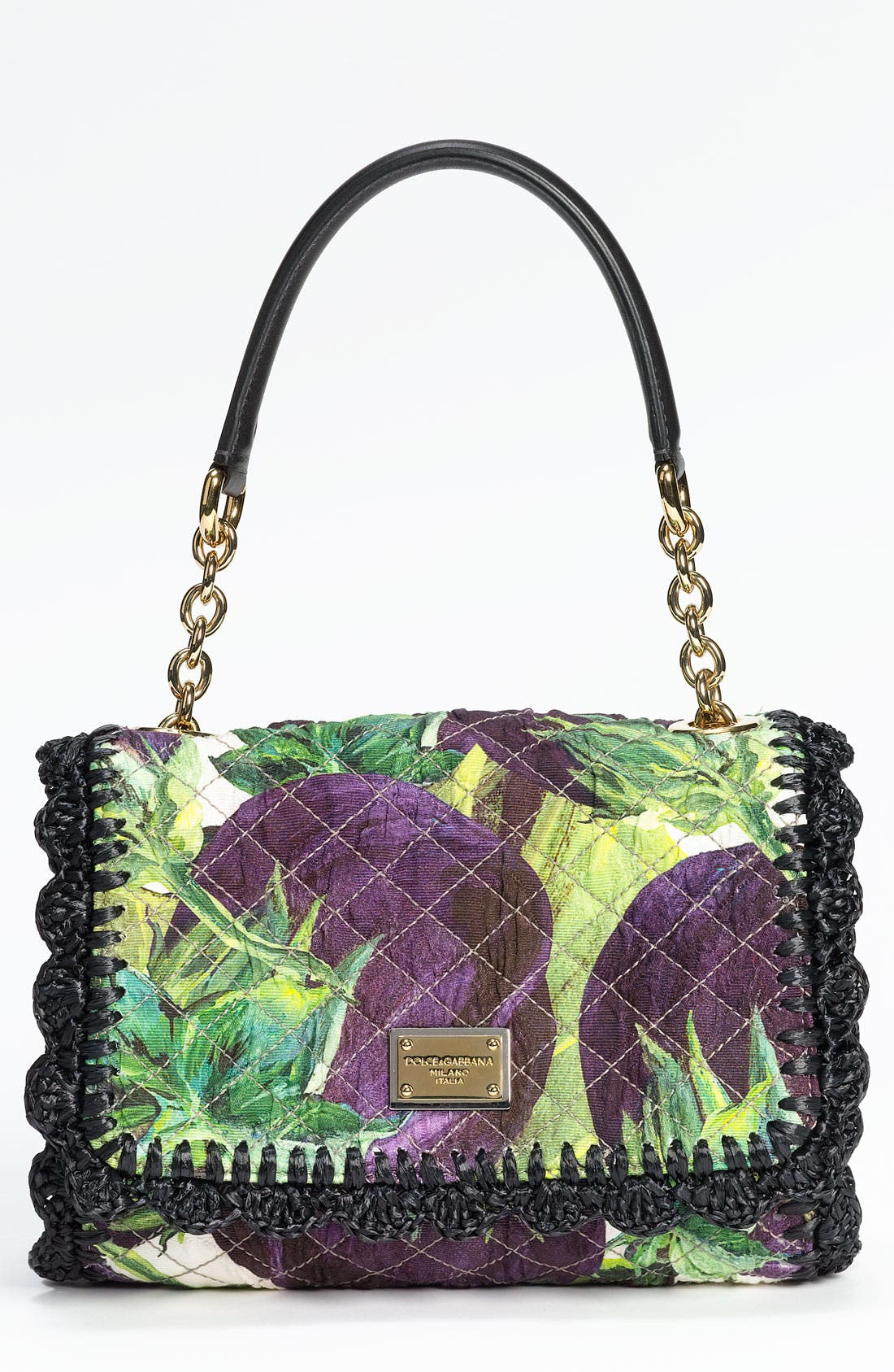 Alternate Image 1 Selected - Dolce&Gabbana 'Miss Dolce Crochet' Shoulder Bag
