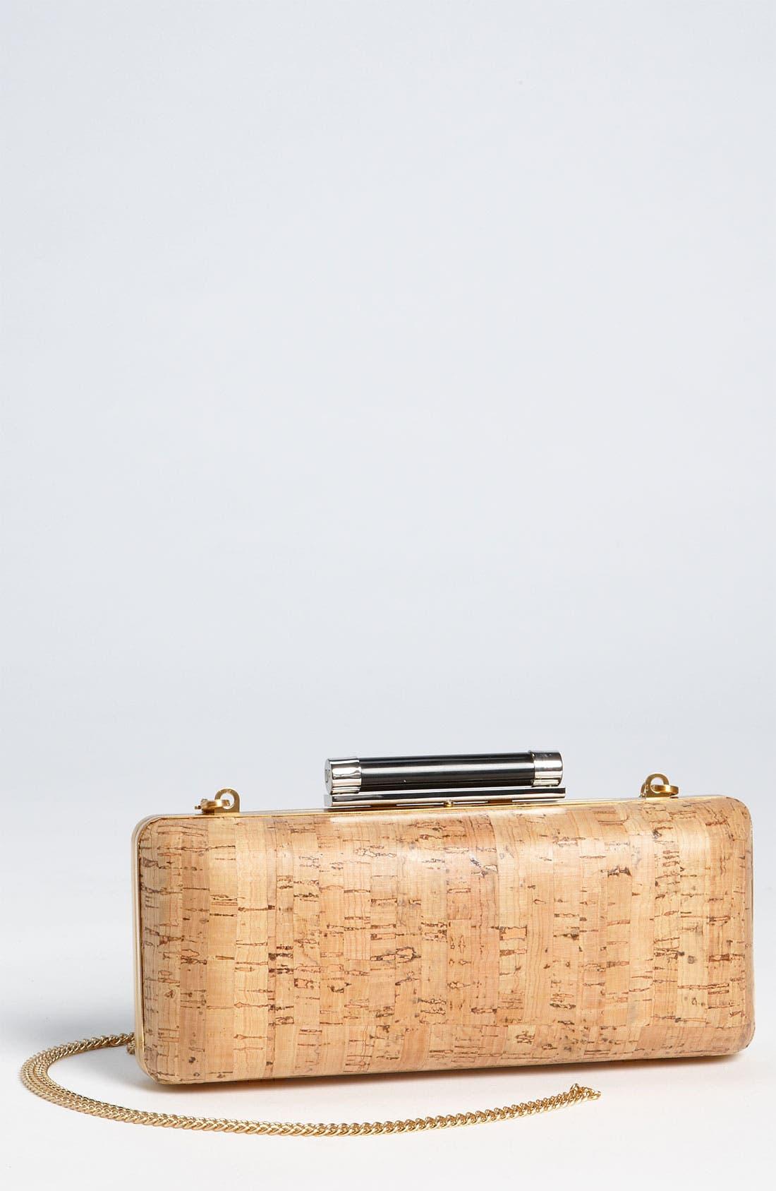 Main Image - Diane von Furstenberg 'Tonda' Cork Clutch