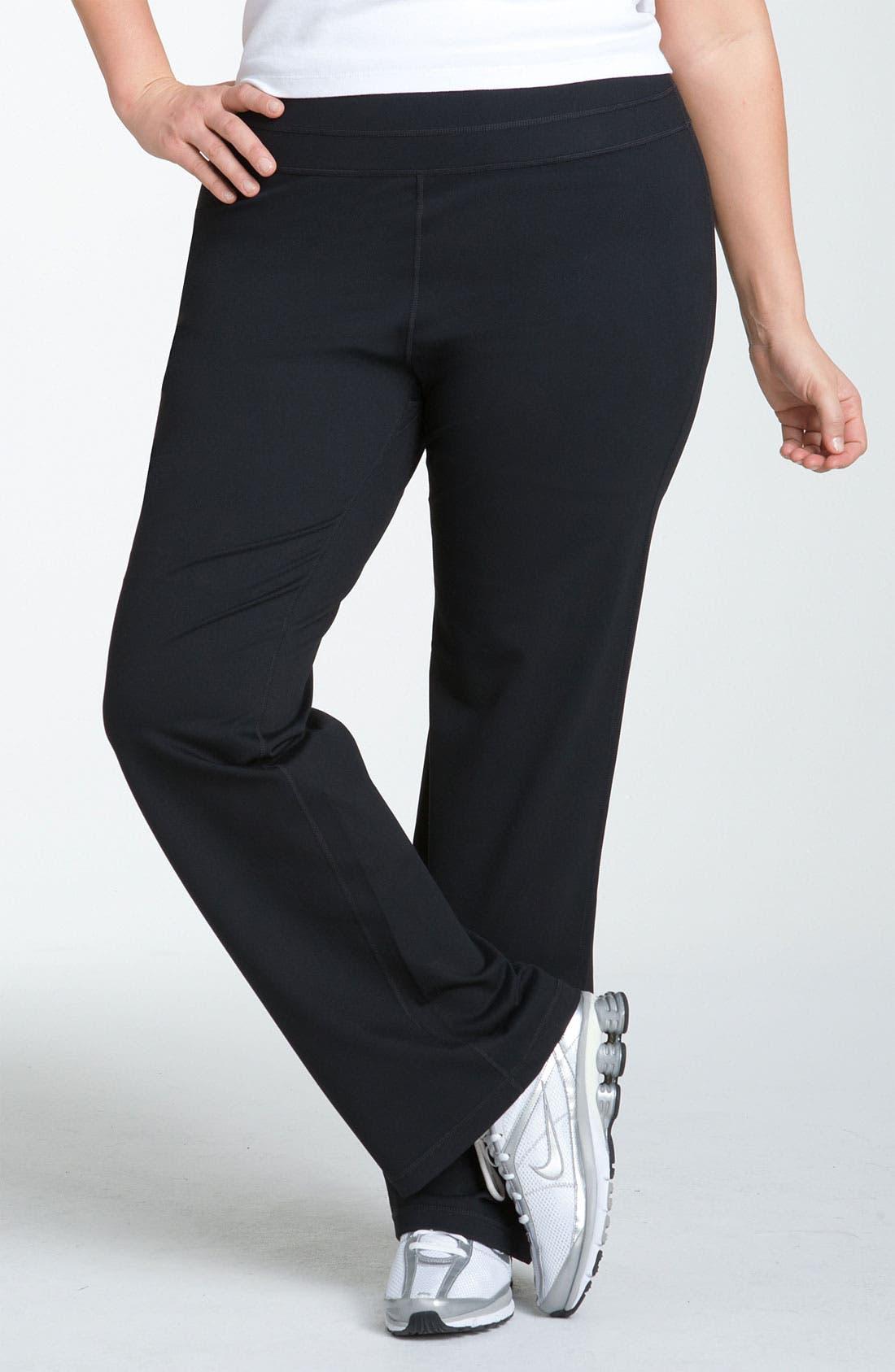Main Image - Zella 'Booty' Reversible Pants (Plus Size)