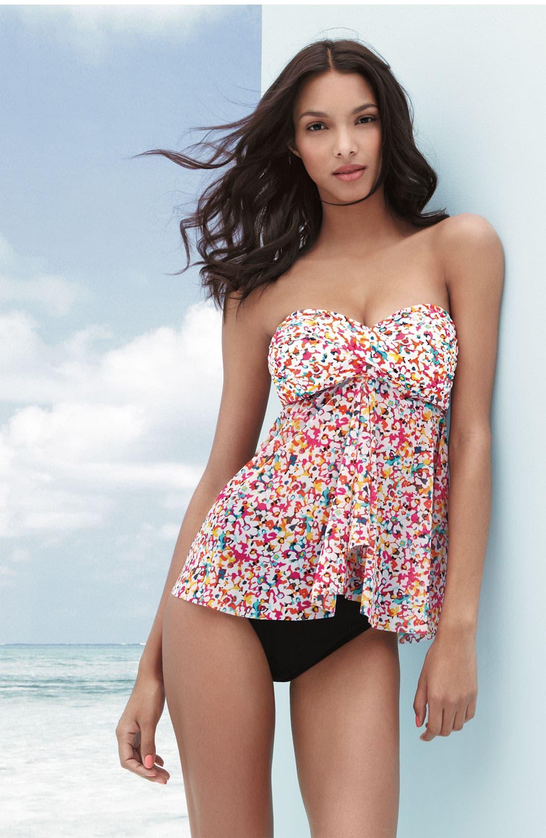 Alternate Image 3  - Profile by Gottex High Waist Bikini Bottoms