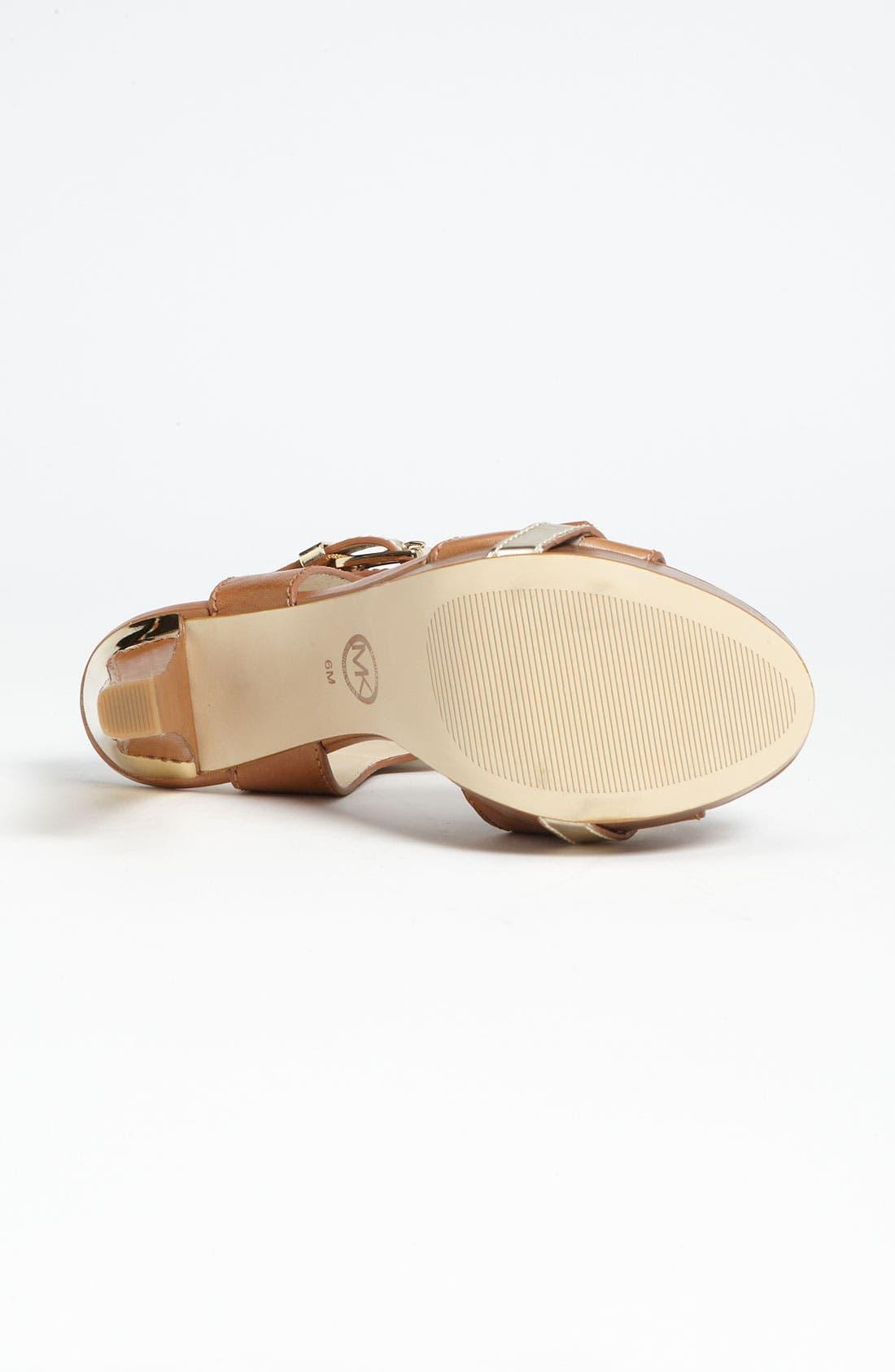 Alternate Image 4  - MICHAEL Michael Kors 'Grace' Sandal