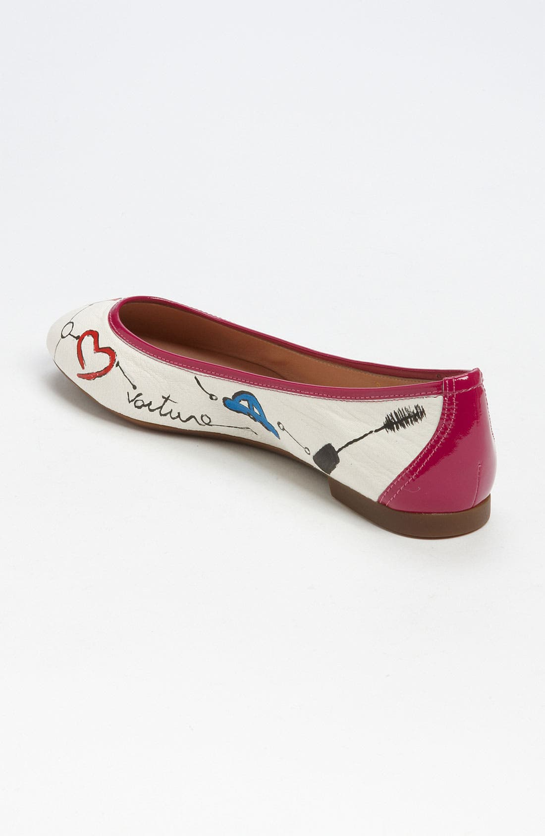 Alternate Image 2  - Sweet Ballerina 'Love Rouge' Ballet Flat