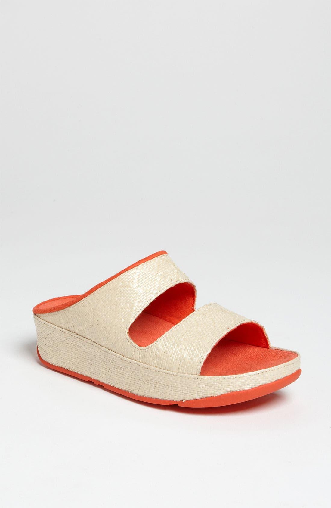 Main Image - FitFlop 'Lolla Raffia' Sandal