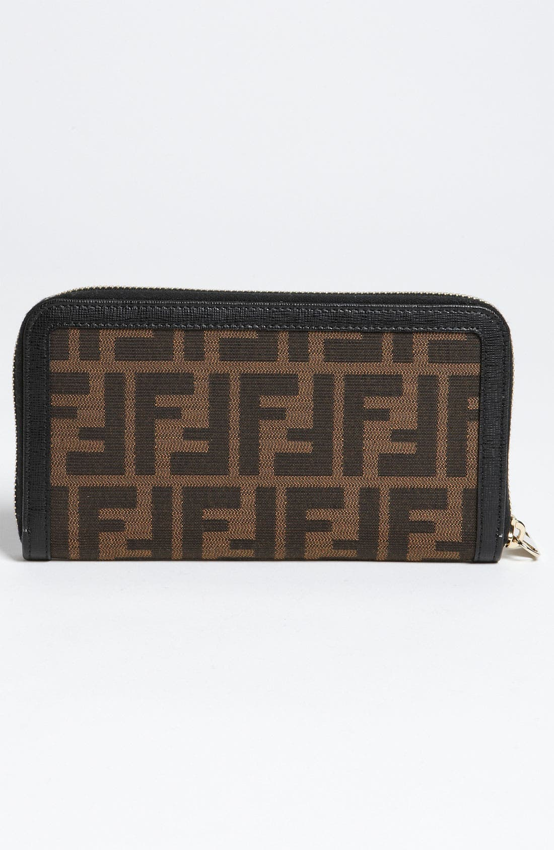 Alternate Image 3  - Fendi 'Zucca - Color' Zip Around Wallet