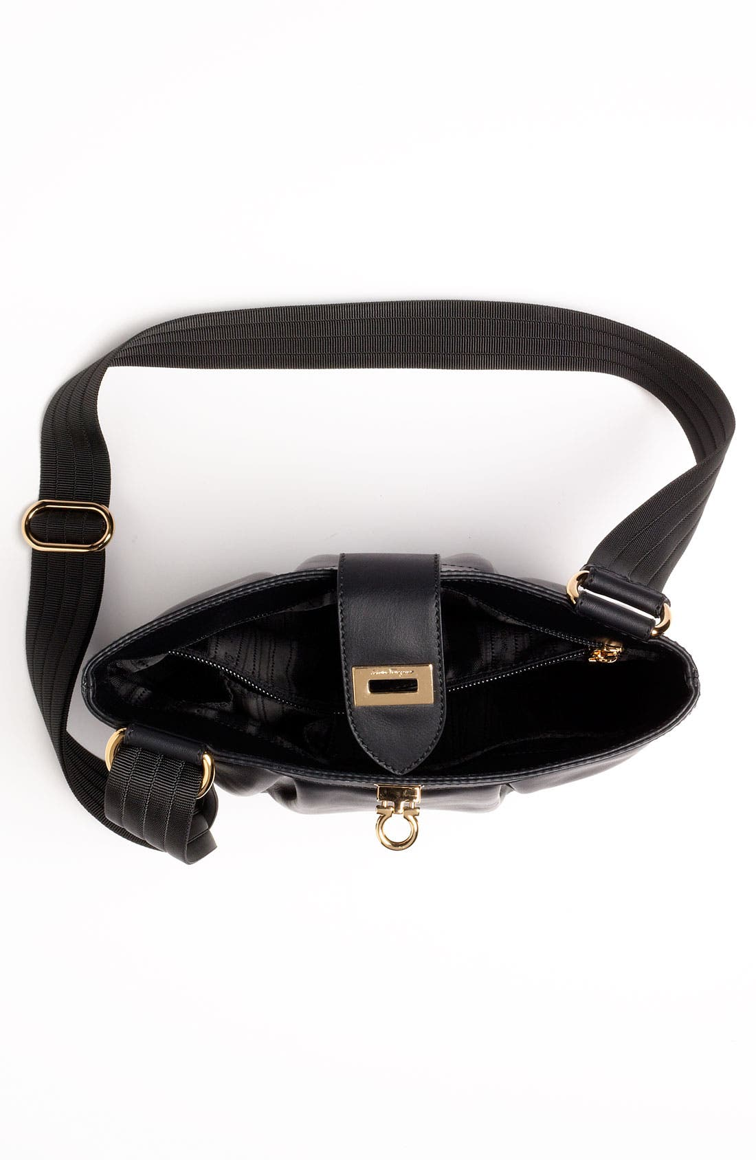 Alternate Image 3  - Salvatore Ferragamo 'Graziella' Leather Crossbody Bag