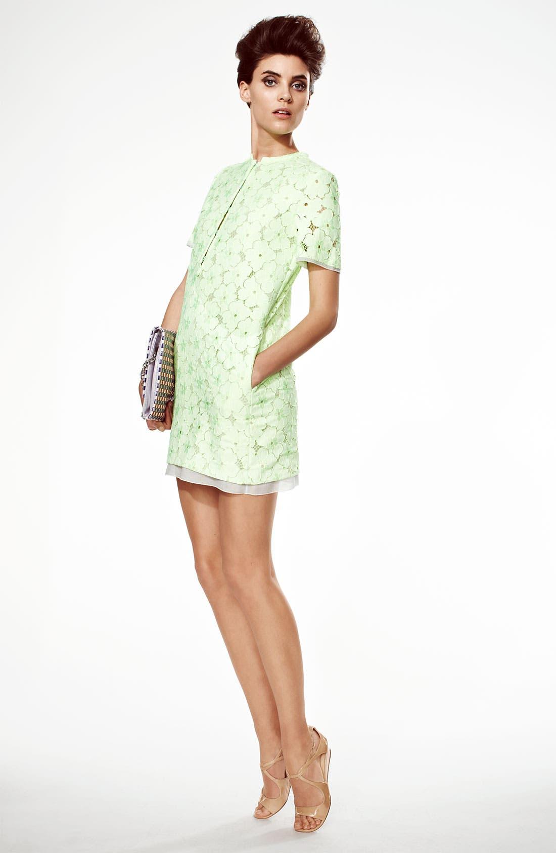 Alternate Image 4  - Diane von Furstenberg 'Warner' Lace Dress