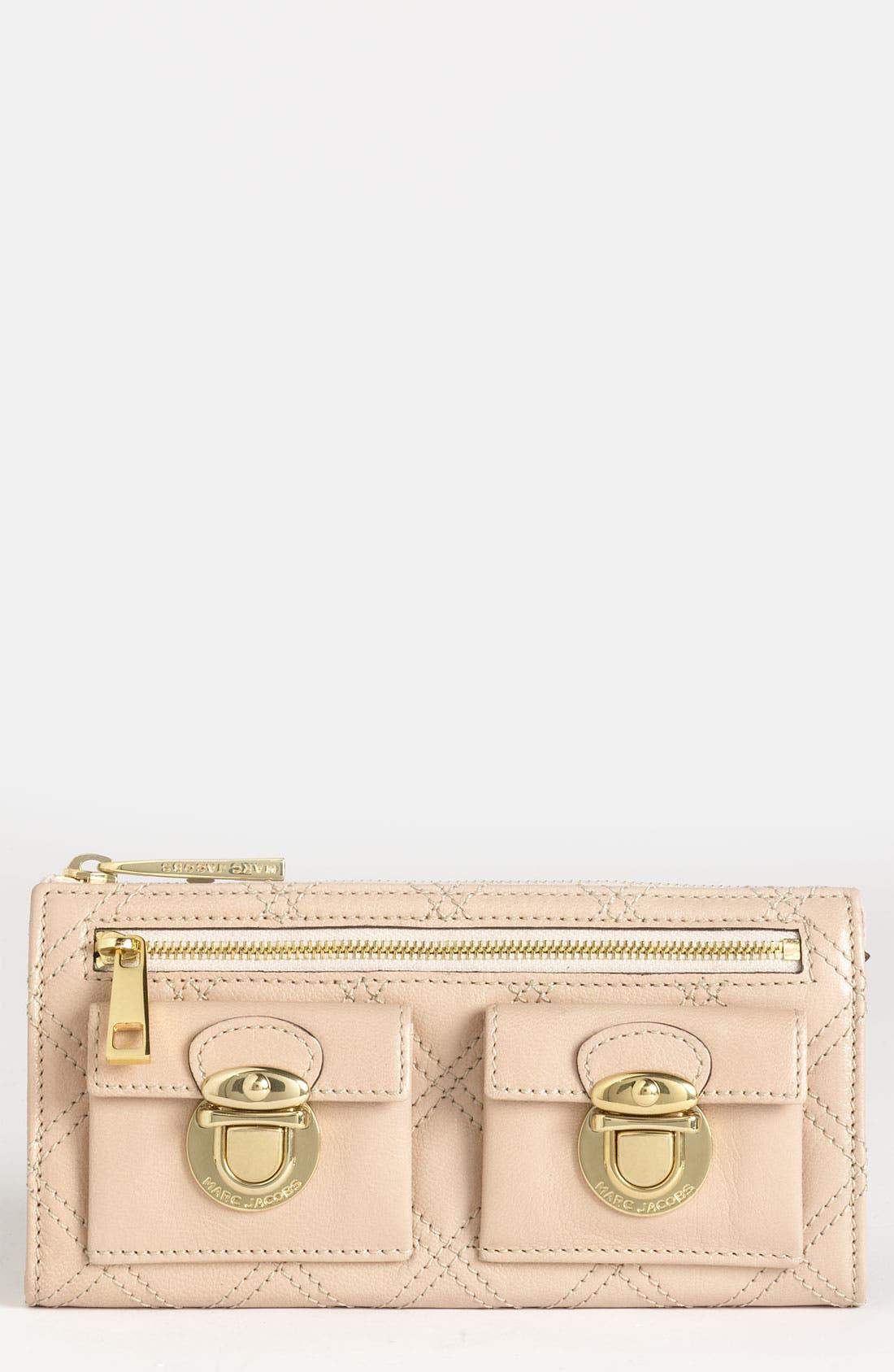 Main Image - MARC JACOBS 'Zip Deluxe' Leather Wallet