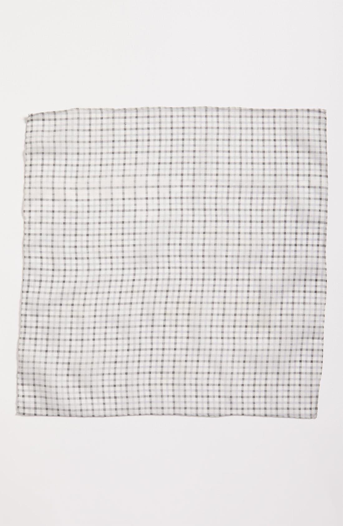 Alternate Image 2  - Calibrate Windowpane Check Pocket Square
