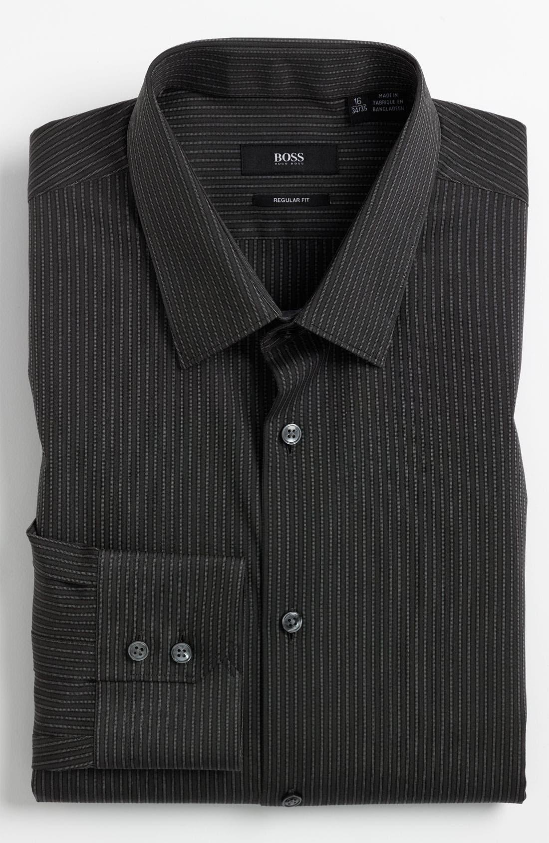 Main Image - BOSS Black Regular Fit Dress Shirt