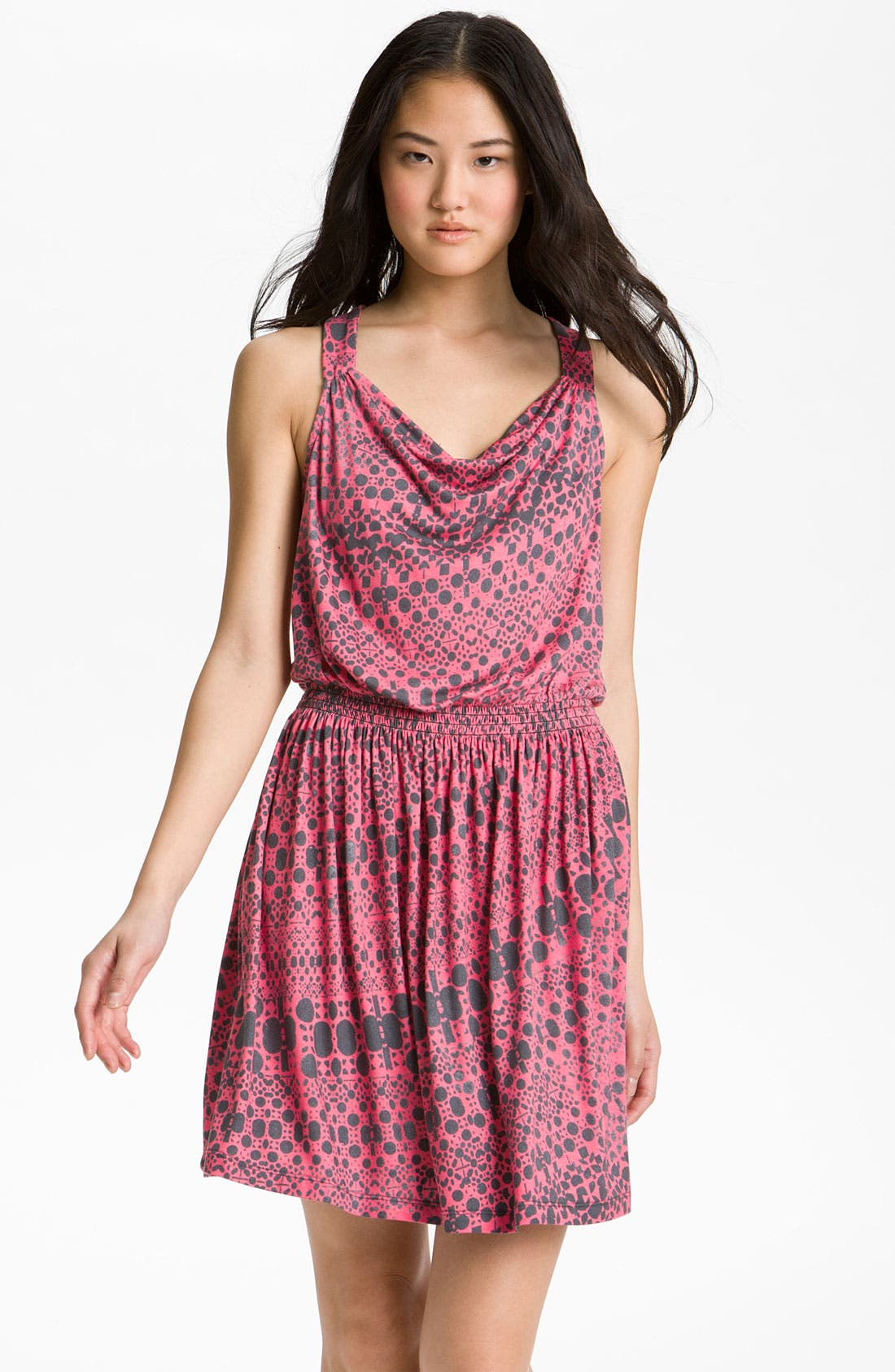 Main Image - Caslon® Draped Knit Dress (Petite)