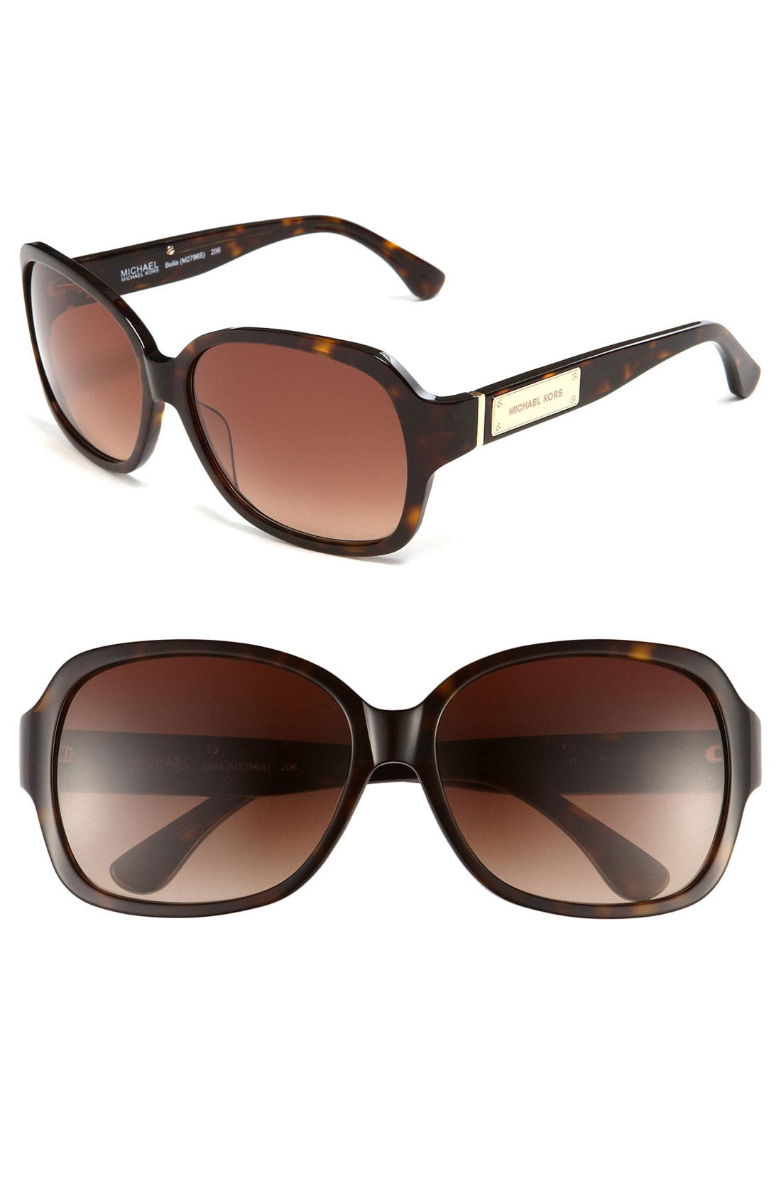 Alternate Image 1 Selected - MICHAEL Michael Kors 'Classic' 58mm Sunglasses