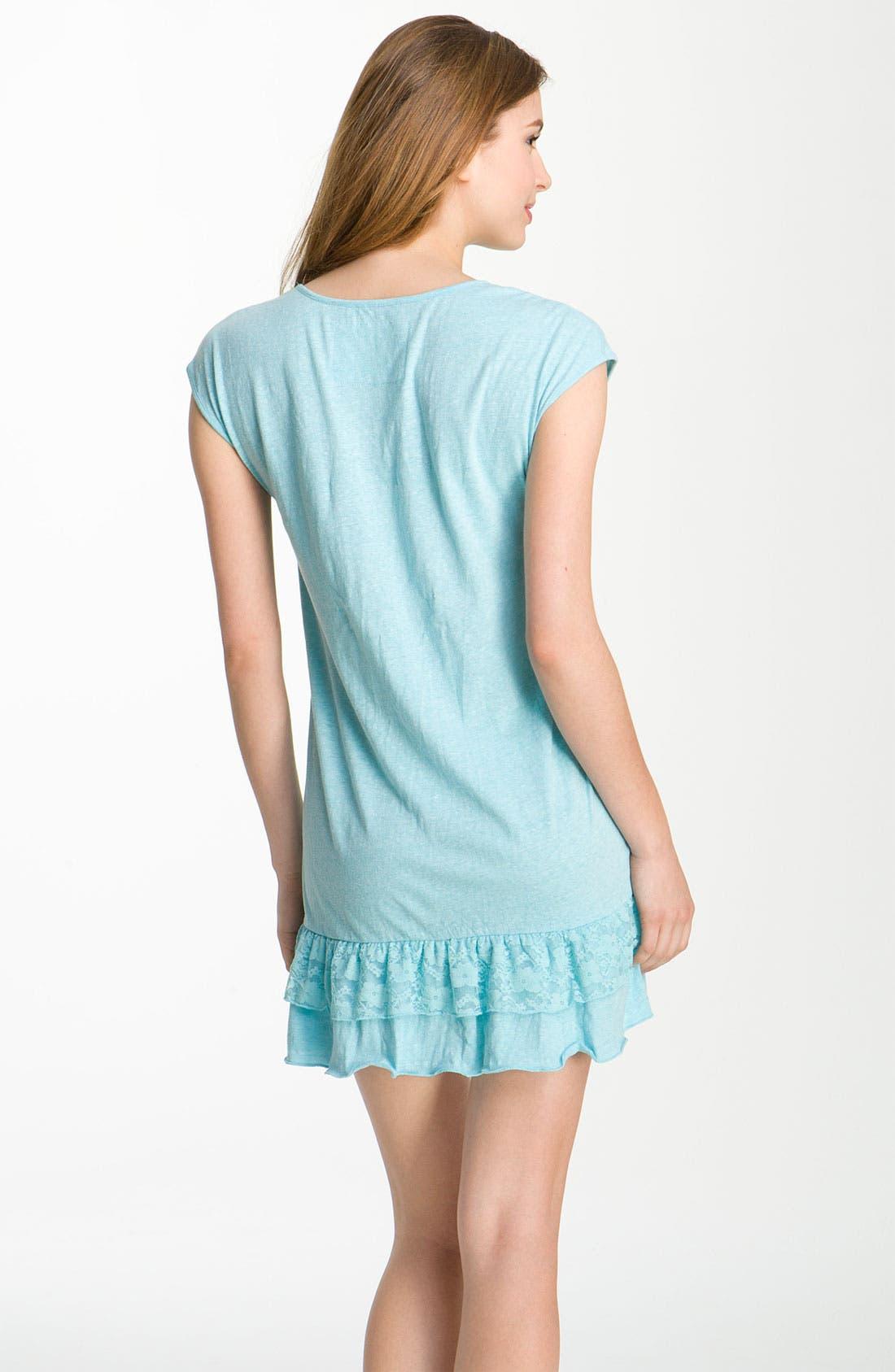 Alternate Image 2  - Make + Model 'Frou Frou' Sleep Shirt