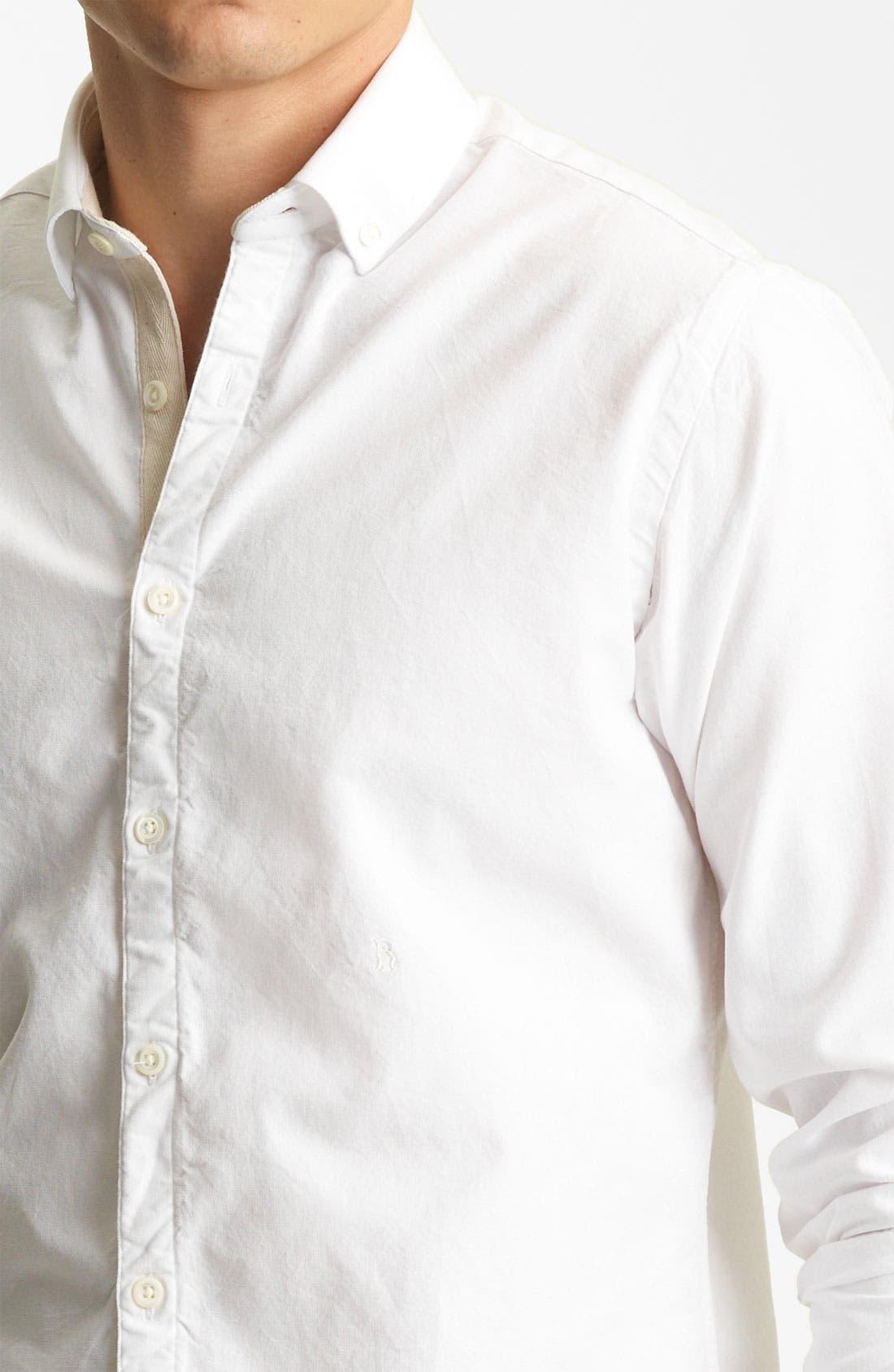 Alternate Image 3  - Billy Reid 'Monogram' Oxford Shirt