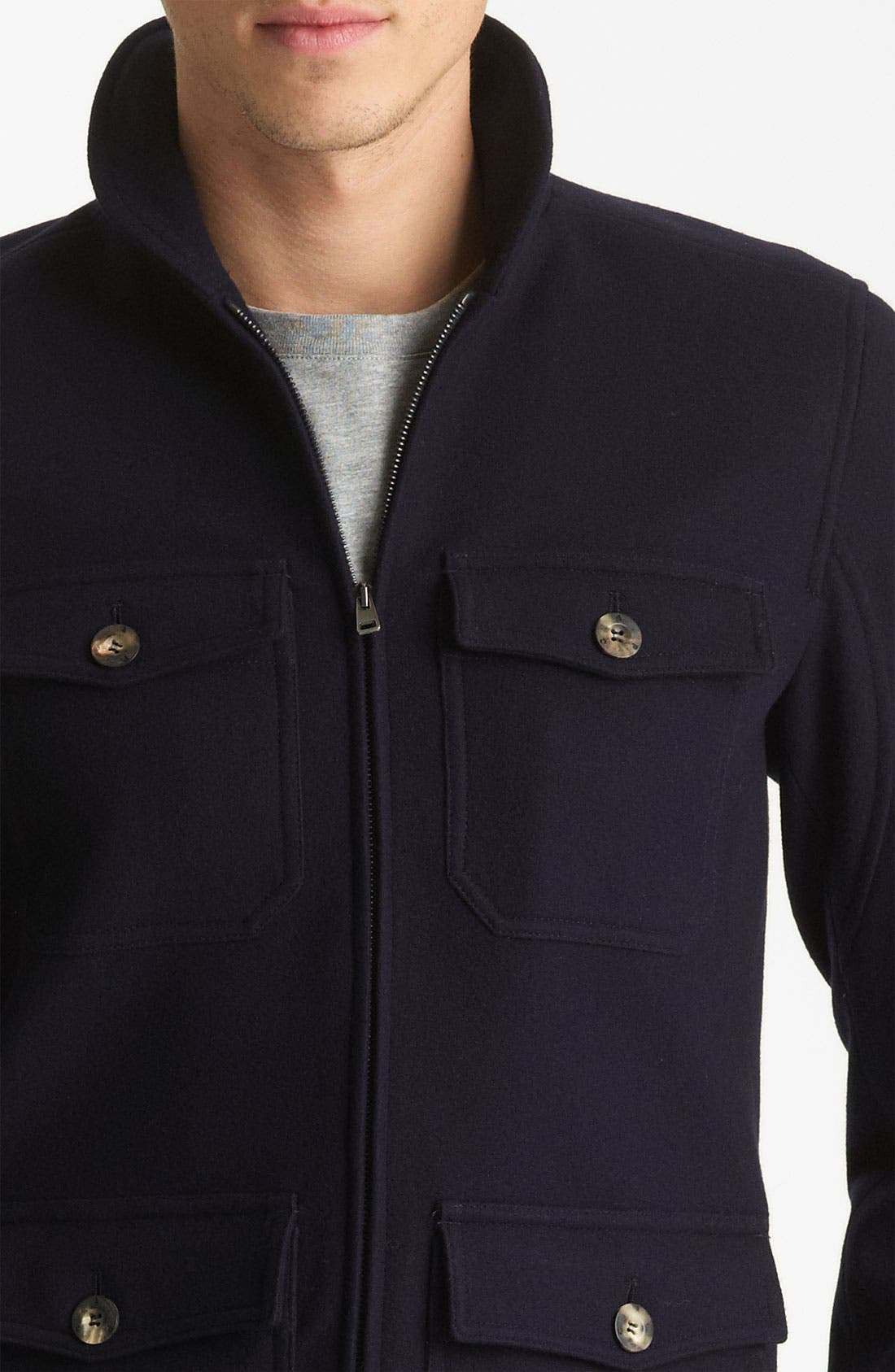 Alternate Image 3  - A.P.C. Round Neck Jacket
