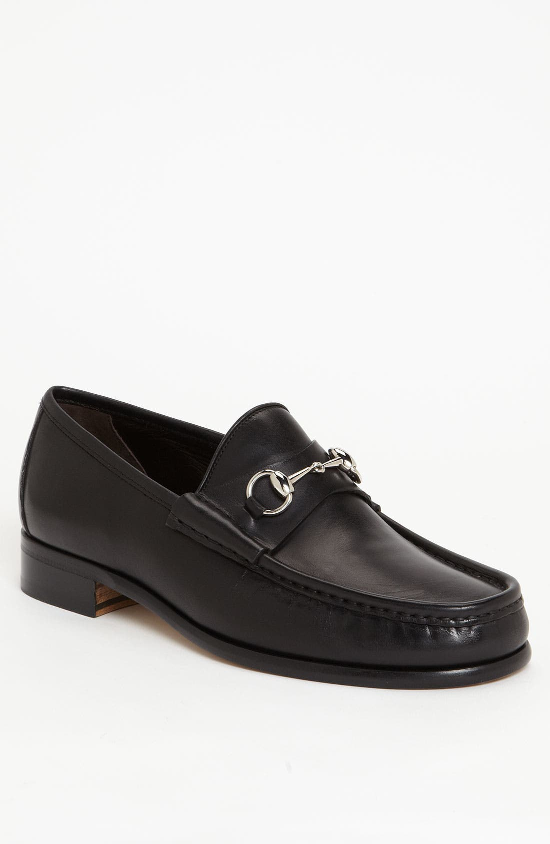 Alternate Image 1 Selected - Gucci Classic Leather Moccasin